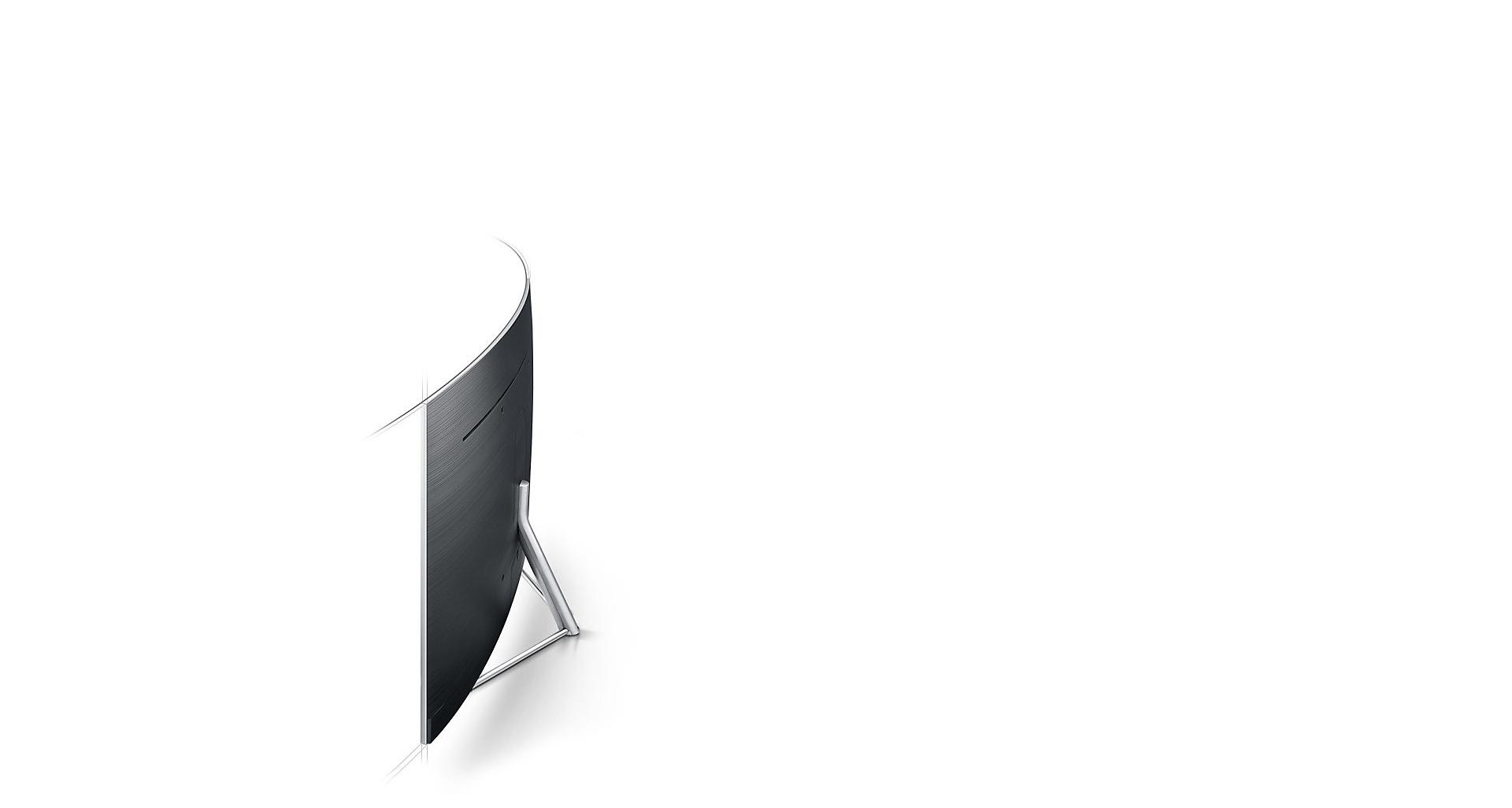 انحنای بی نظیر نمایشگر ال ای دی Q78C