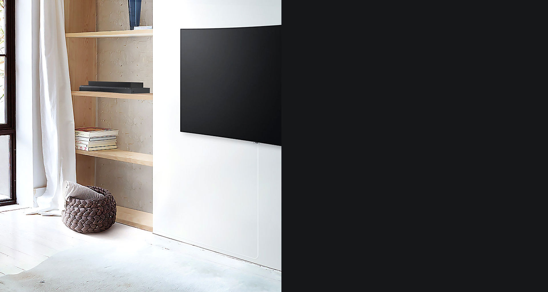 اتصال نامرئی تلویزیون 55Q78C