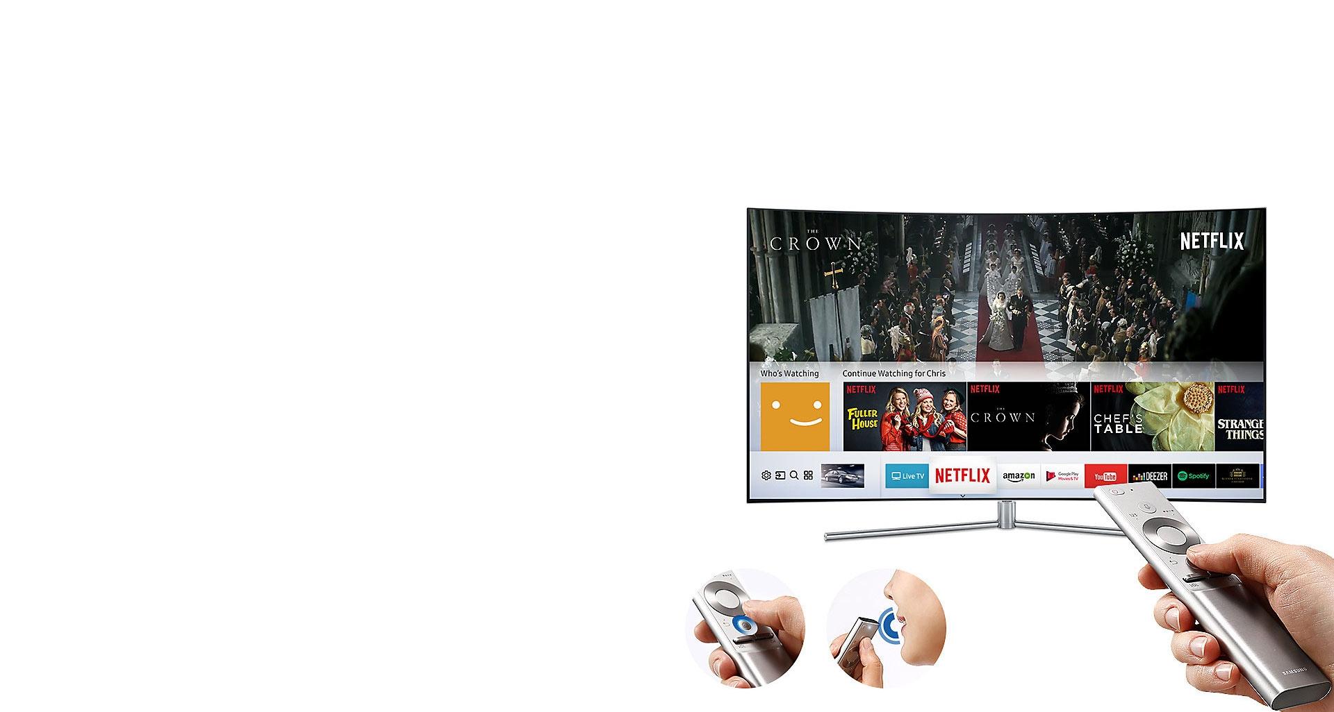 ریموت کنترل چند منظوره تلویزیون QLED سری 7
