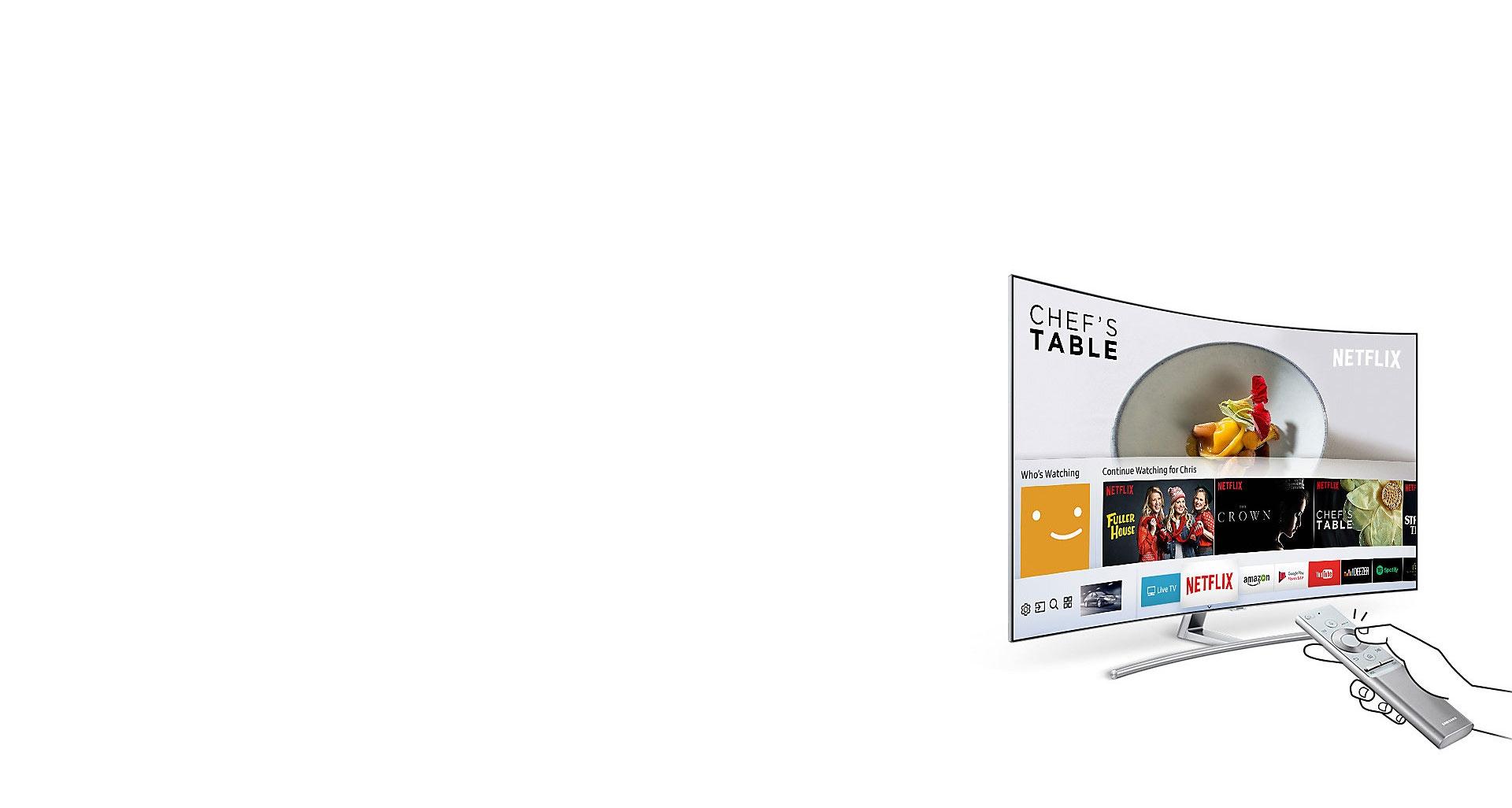 ویژگی بی نظیر Smart Hub تلویزیون Q78C سامسونگ