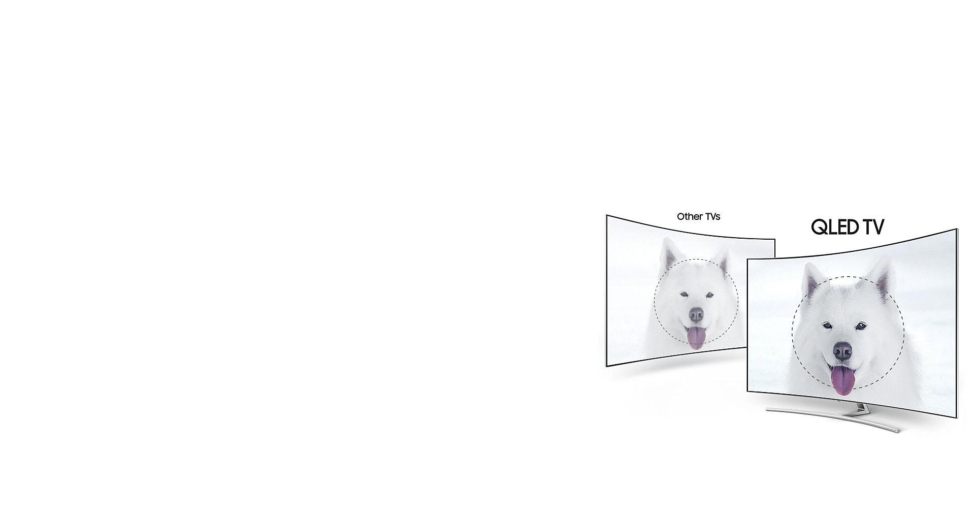 کیفیت HDR 1500 در تلویزیون 55Q78C