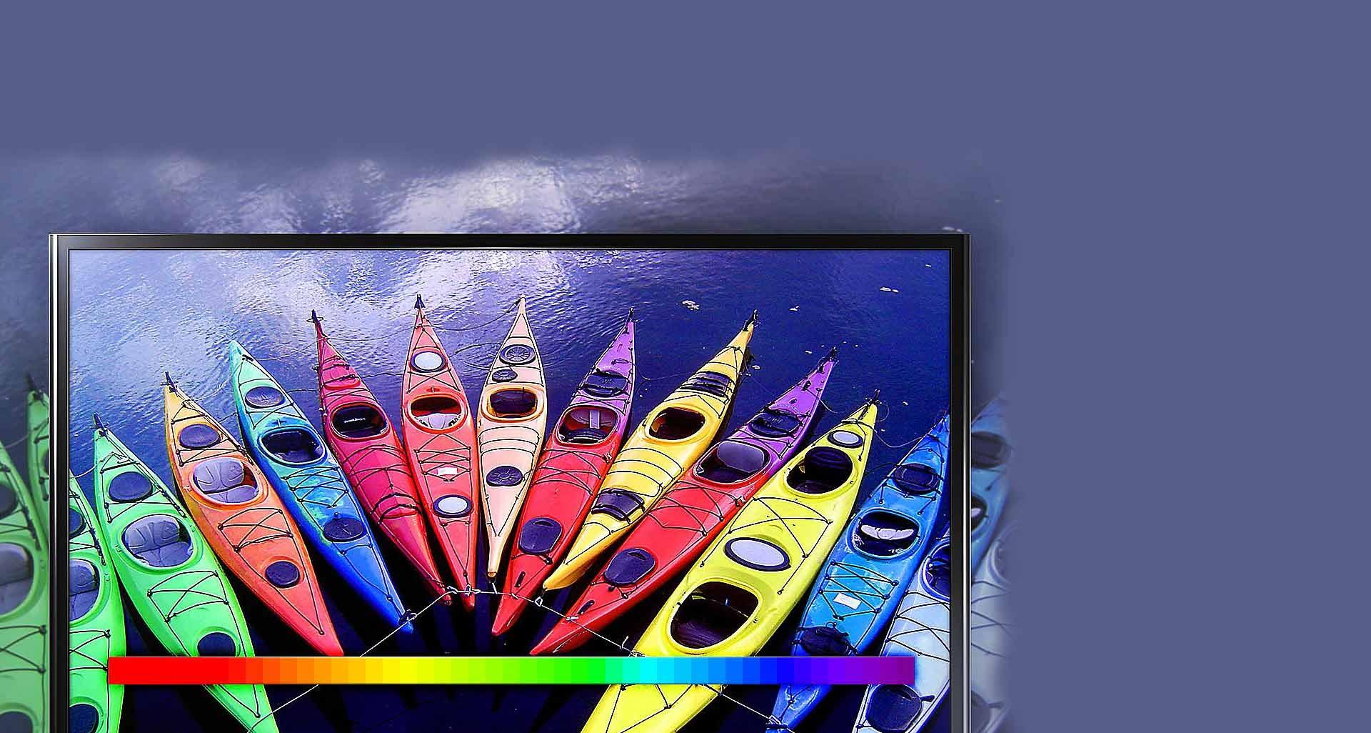 تقویت کننده رنگ گسترده در تلویزیون سری 5 سامسونگ