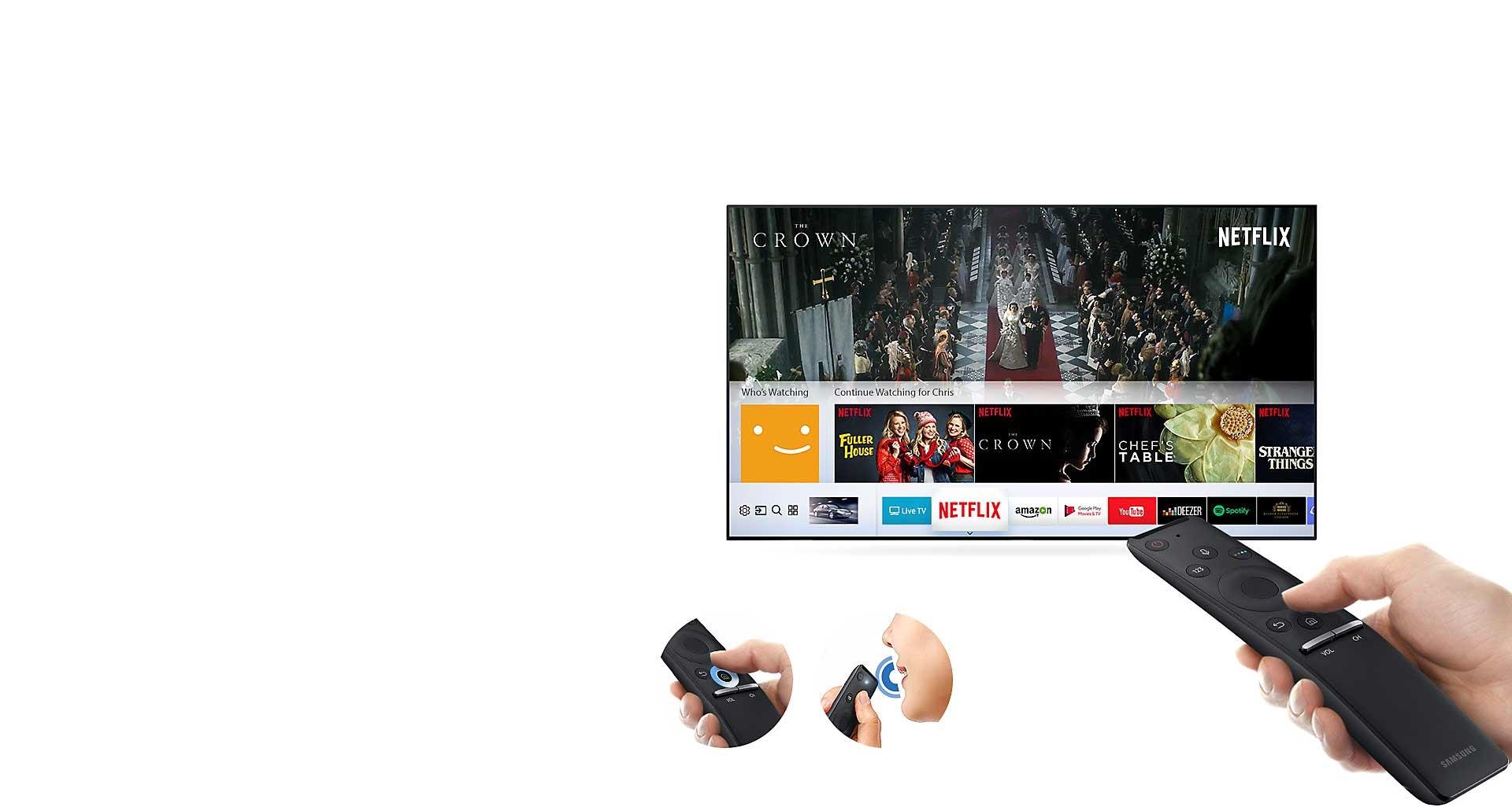تلویزیون ال ای دی سامسونگ ۴۹ اینچ ۴۹N6900