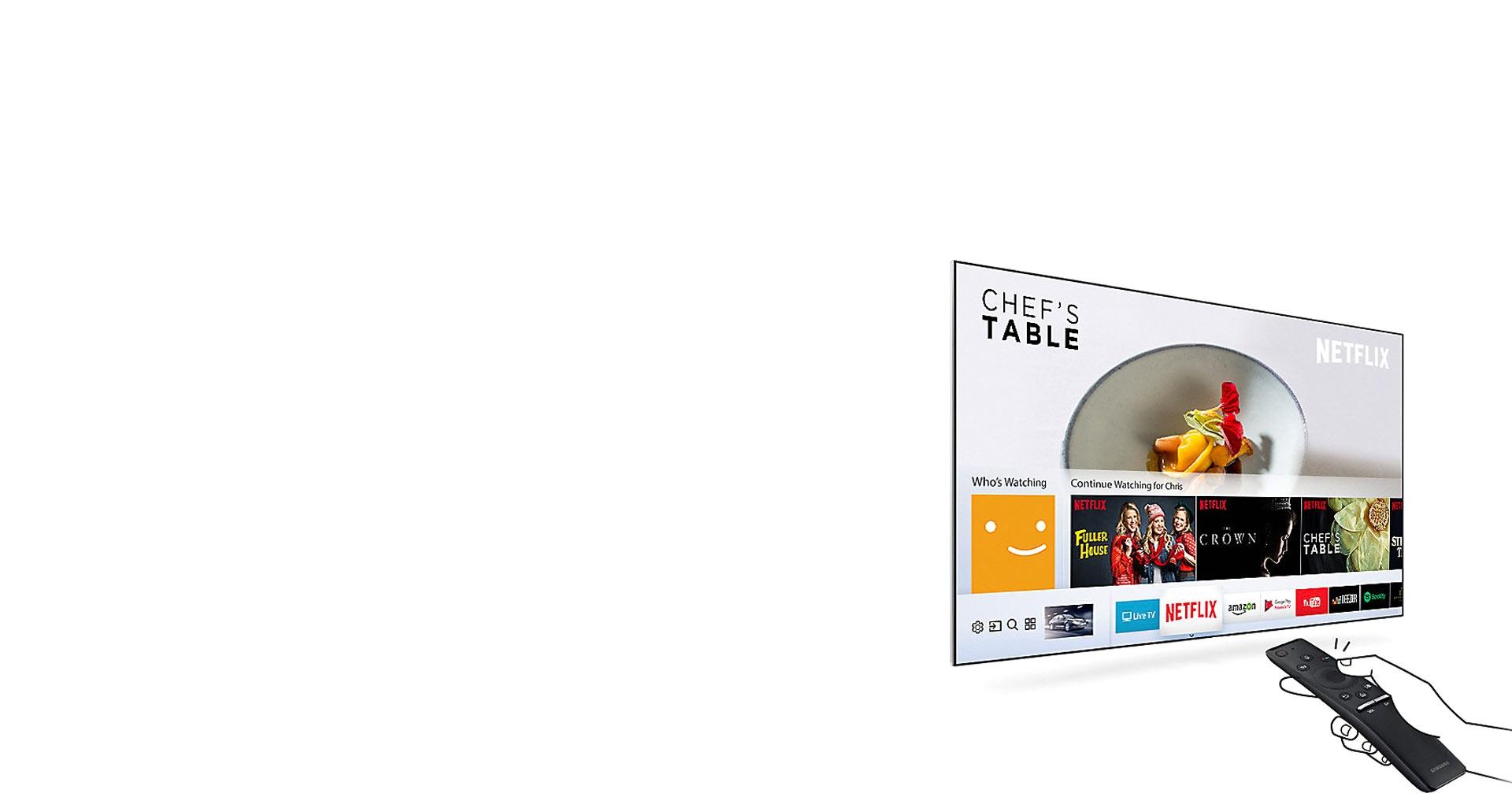 ال ای دی سری 7 سامسونگ با هاب هوشمند