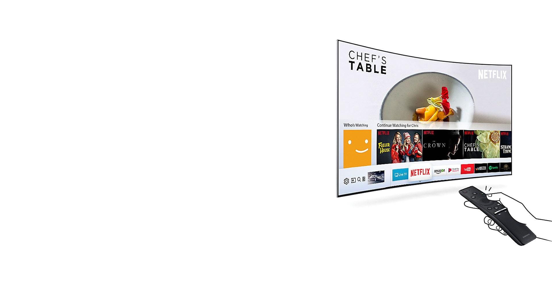 تلویزیون 49 اینچی سامسونگ با قابلیت Smart Hub