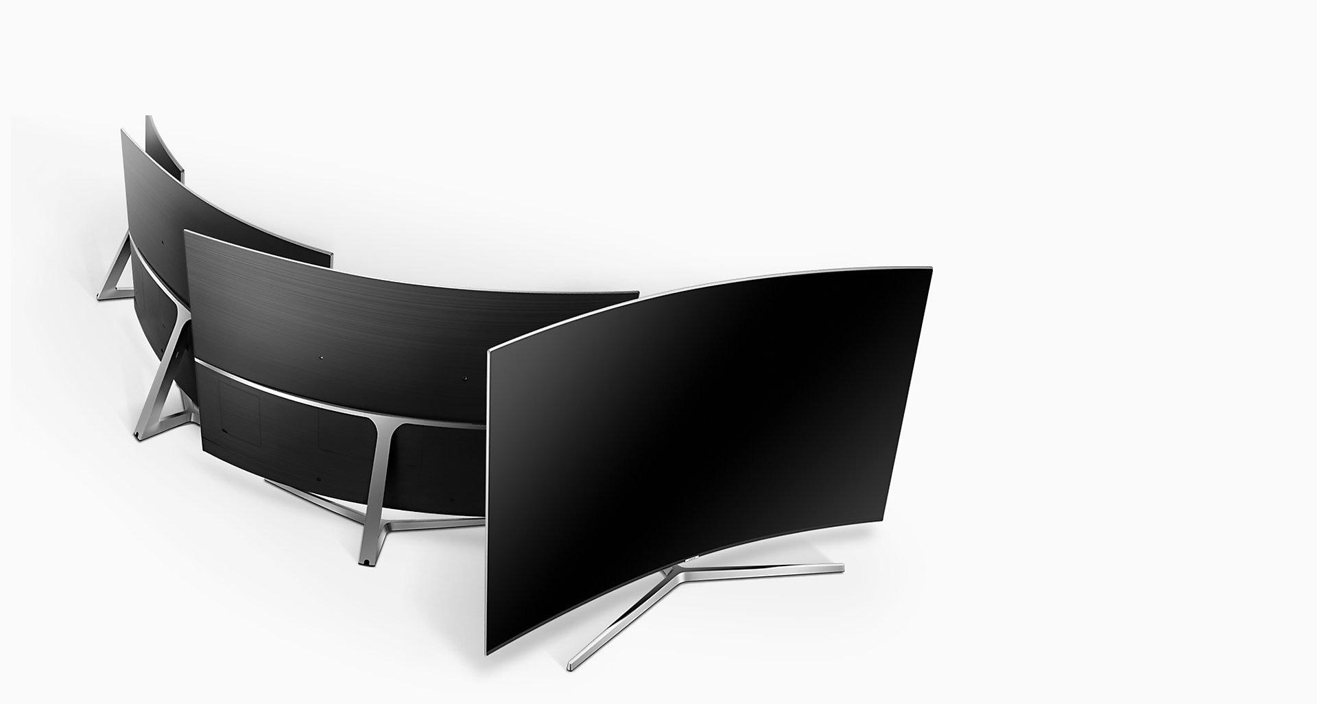 طراحی 360 درجه سامسونگ برای تلویزیون MU10000