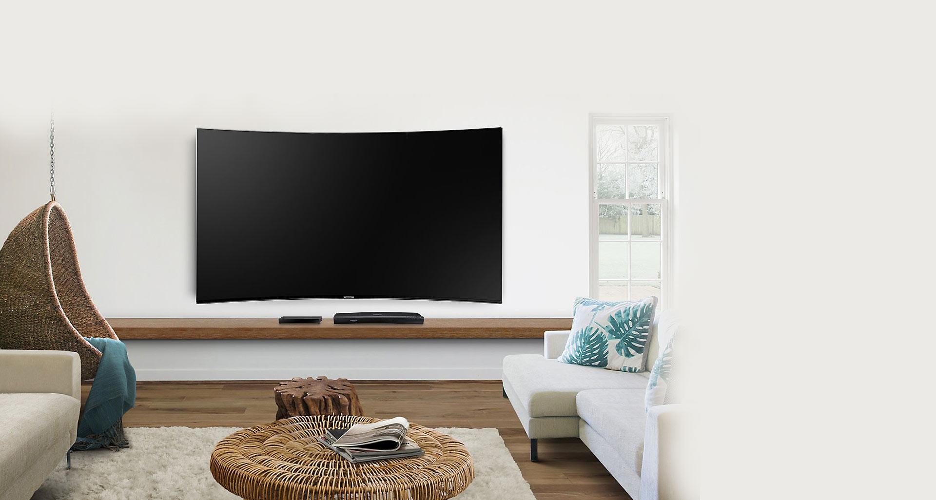 تلویزیون 10000 سامسونگ برای محیطی مرتب و آراسته