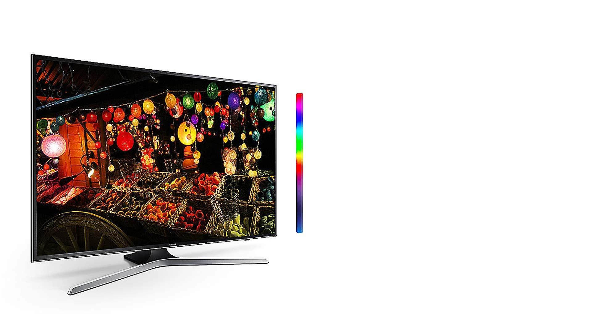 تجربه رنگ های طبیعی با ال ای دی هوشمند UHD 4K
