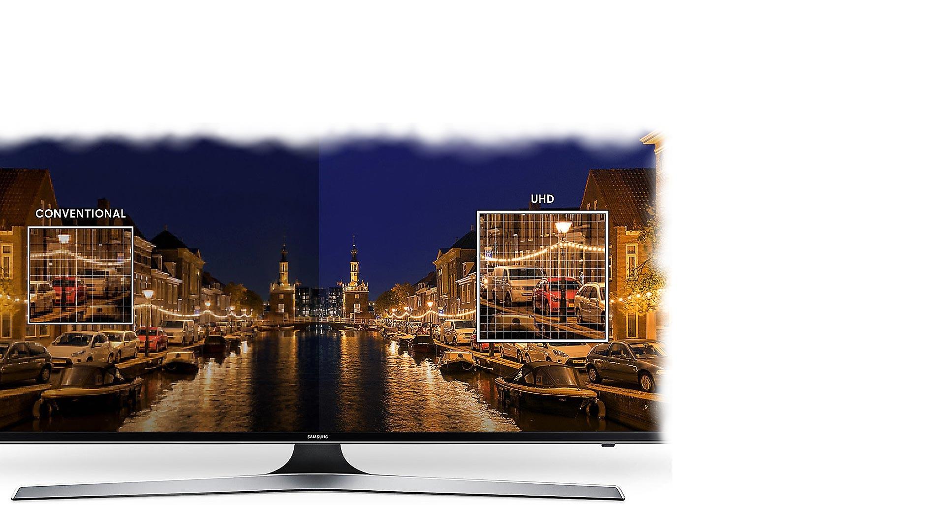 وضوح خارق العاده تلویزیون 55 اینچی سامسونگ
