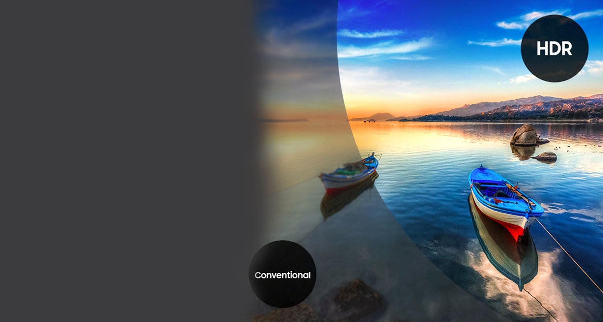 ال ای دی 50 اینچ سری 7 سامسونگ با شفافیت استثنایی تصویر