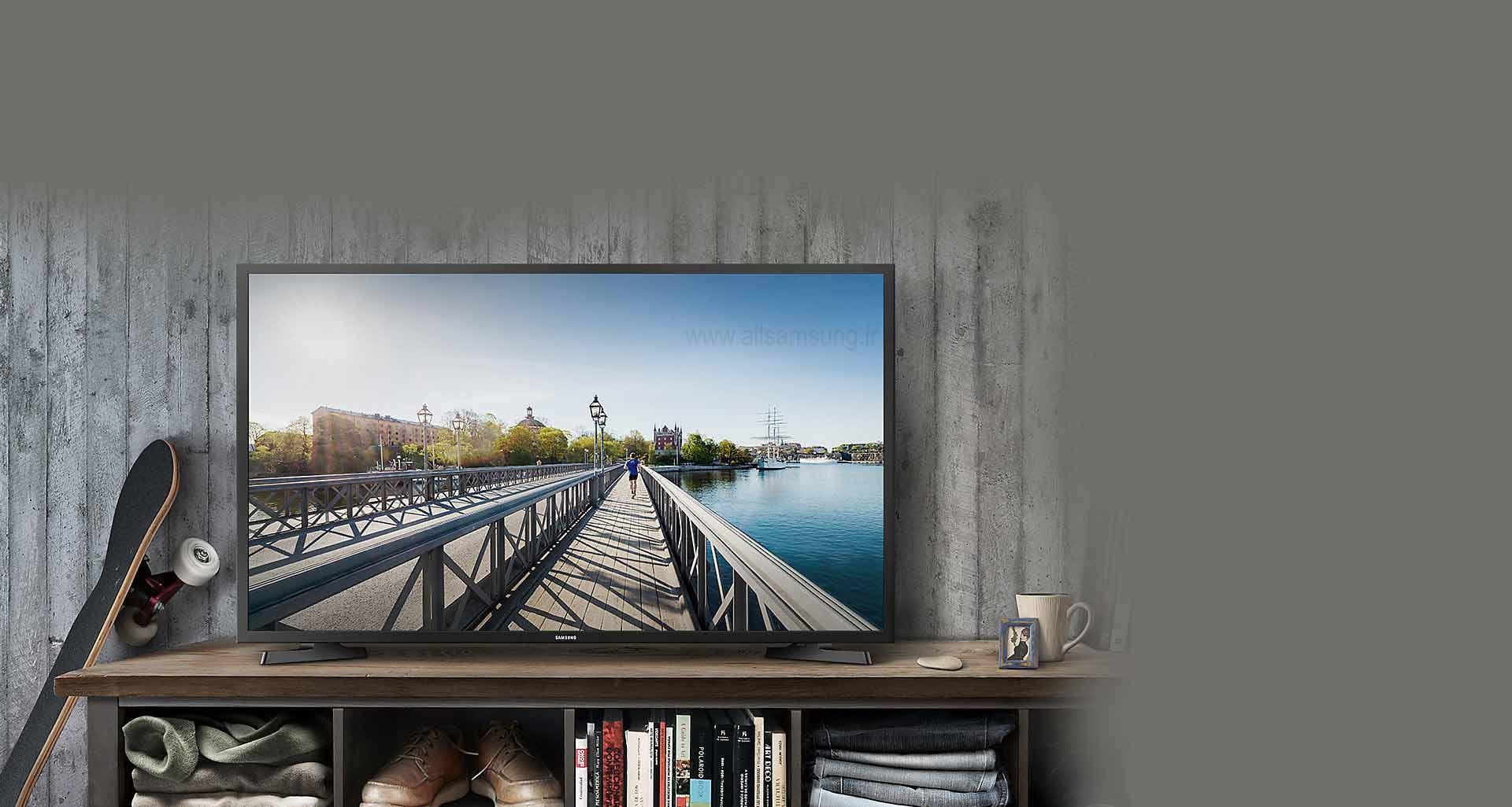تجربه تصویر اچ دی بی نظیر با تلویزیون N5550