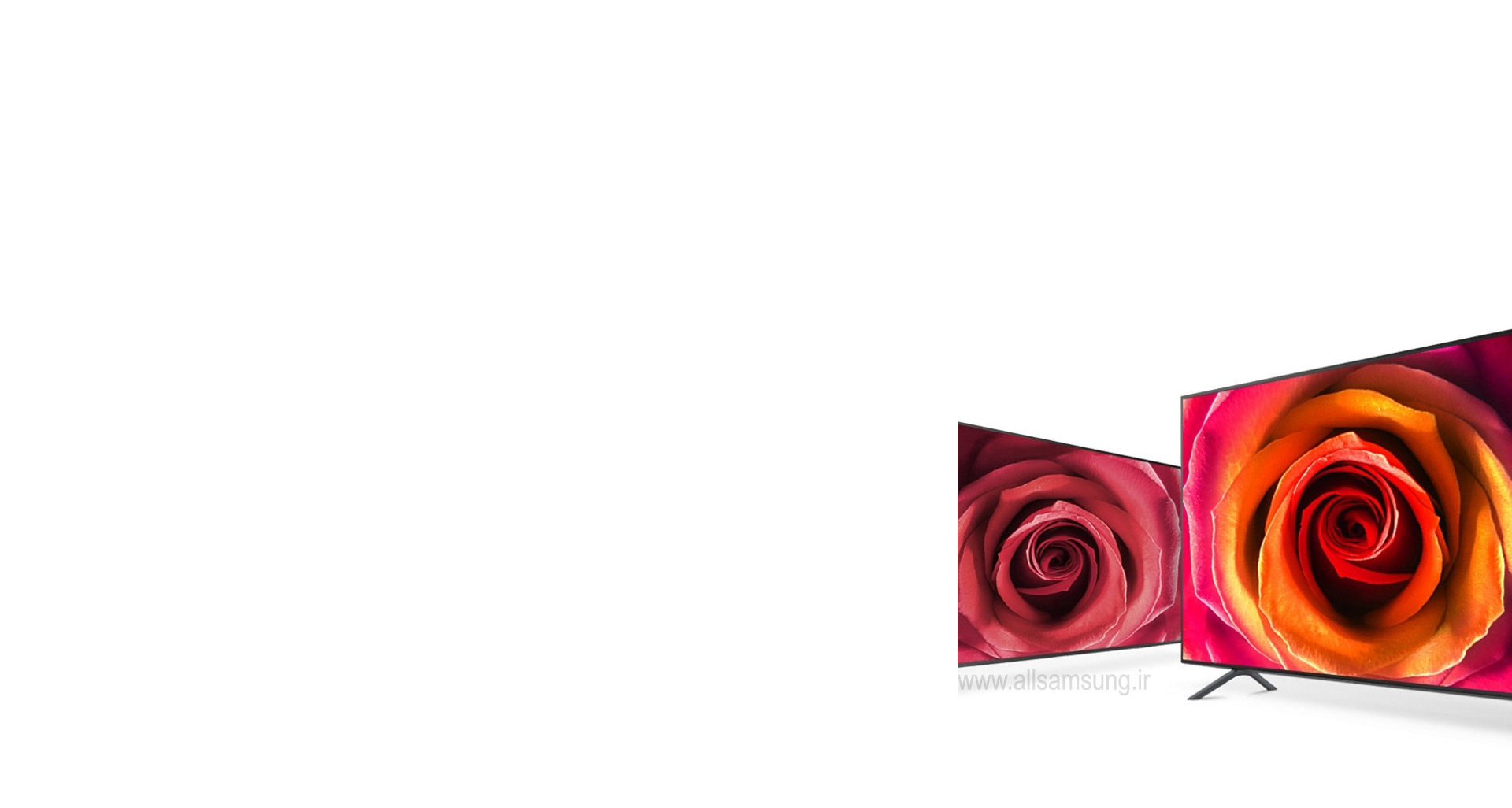 تلویزیون هوشمند 4k UHD با طیف گسترده ای از رنگ های واقع گرایانه
