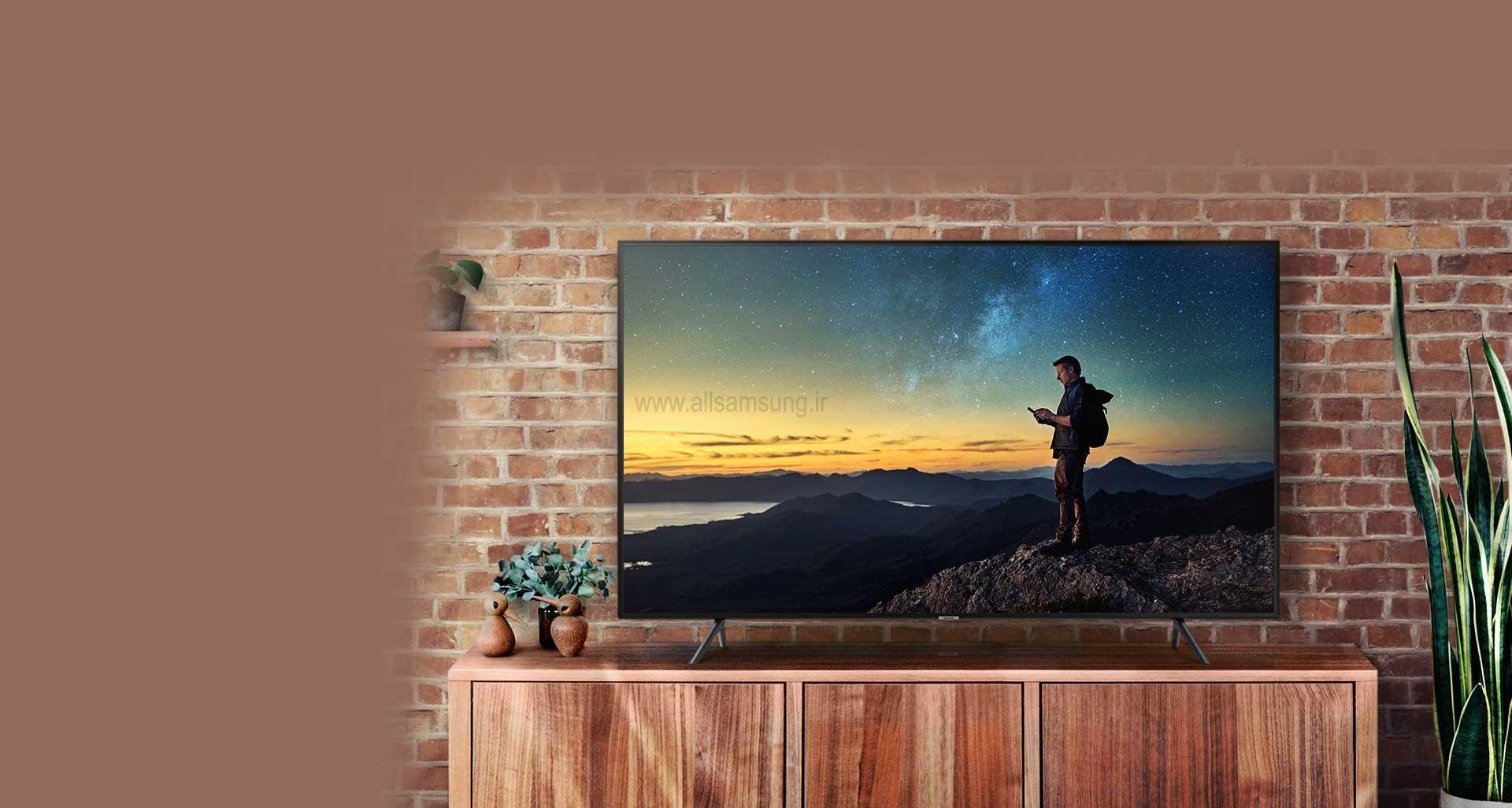 وضوحی بی نظیر با تلویزیون NU7100 سامسونگ