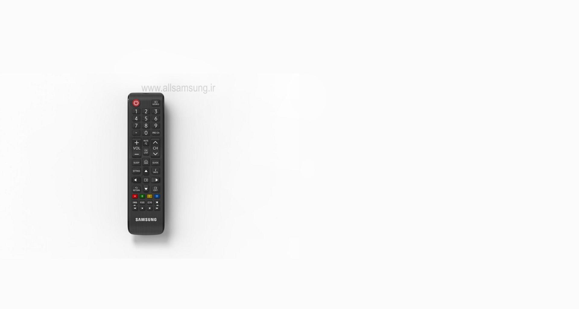 کنترل آسان تلویزیون NU7100 در دستان شما