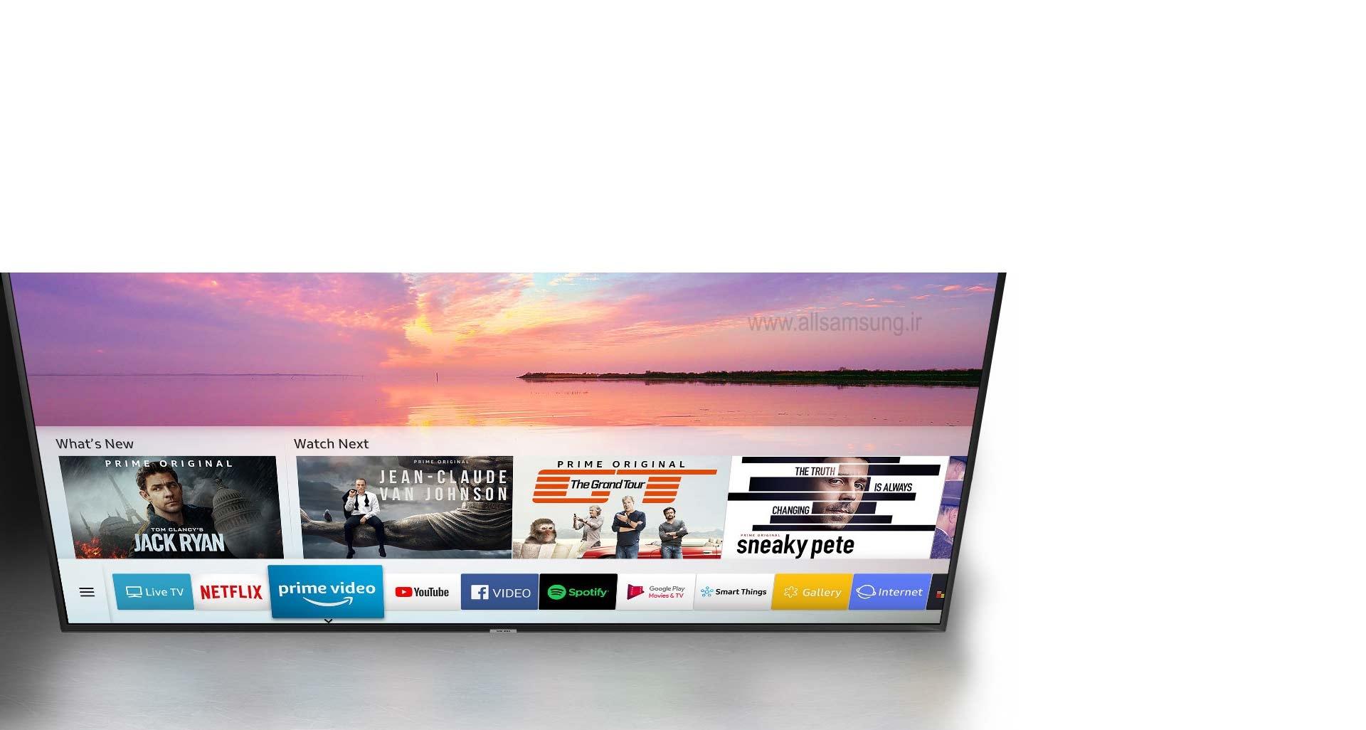 جست و جوی راحت تر محتوا با تلویزیون NU7100