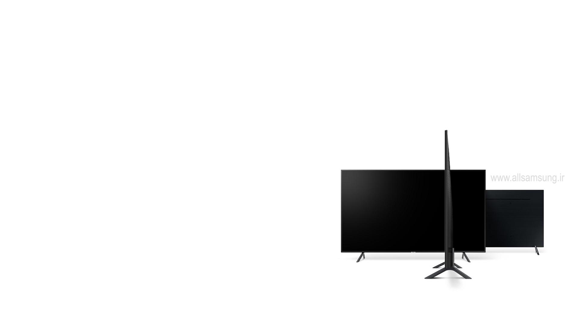 تلویزیون NU7100 با طراحی باریک و ظریف