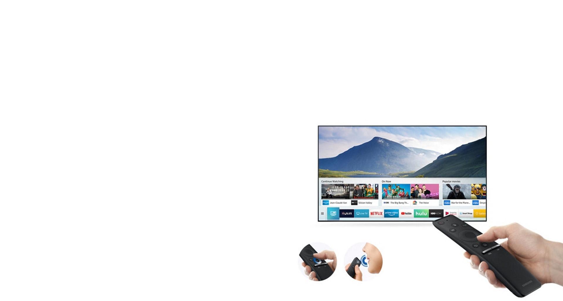 کنترل حرفه ای تلویزیون NU8 با OneRemote