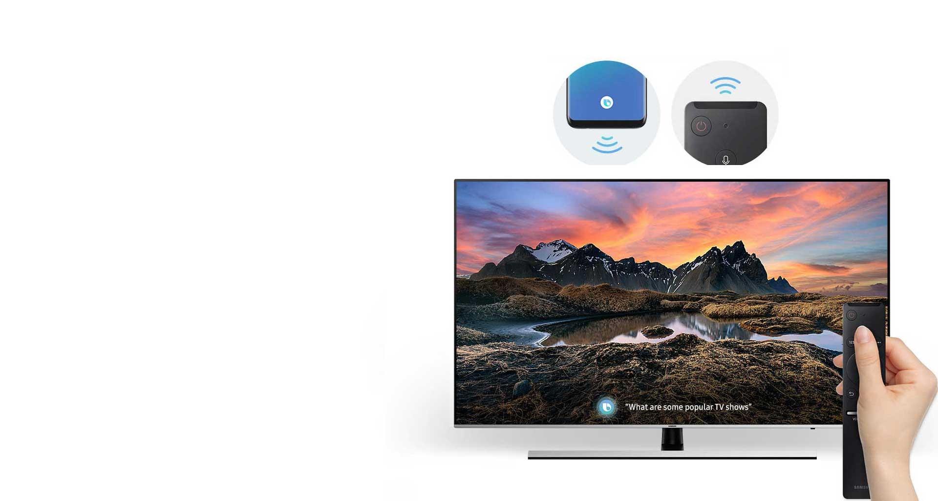 لذت بردن از تلویزیون NU8 توسط روش هوشمند بیکسبی