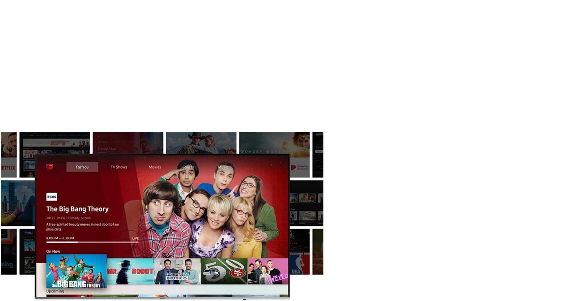 با داشتن تلویزیون سری NU کمتر جست و جو کنید و بیشتر تماشا کنید