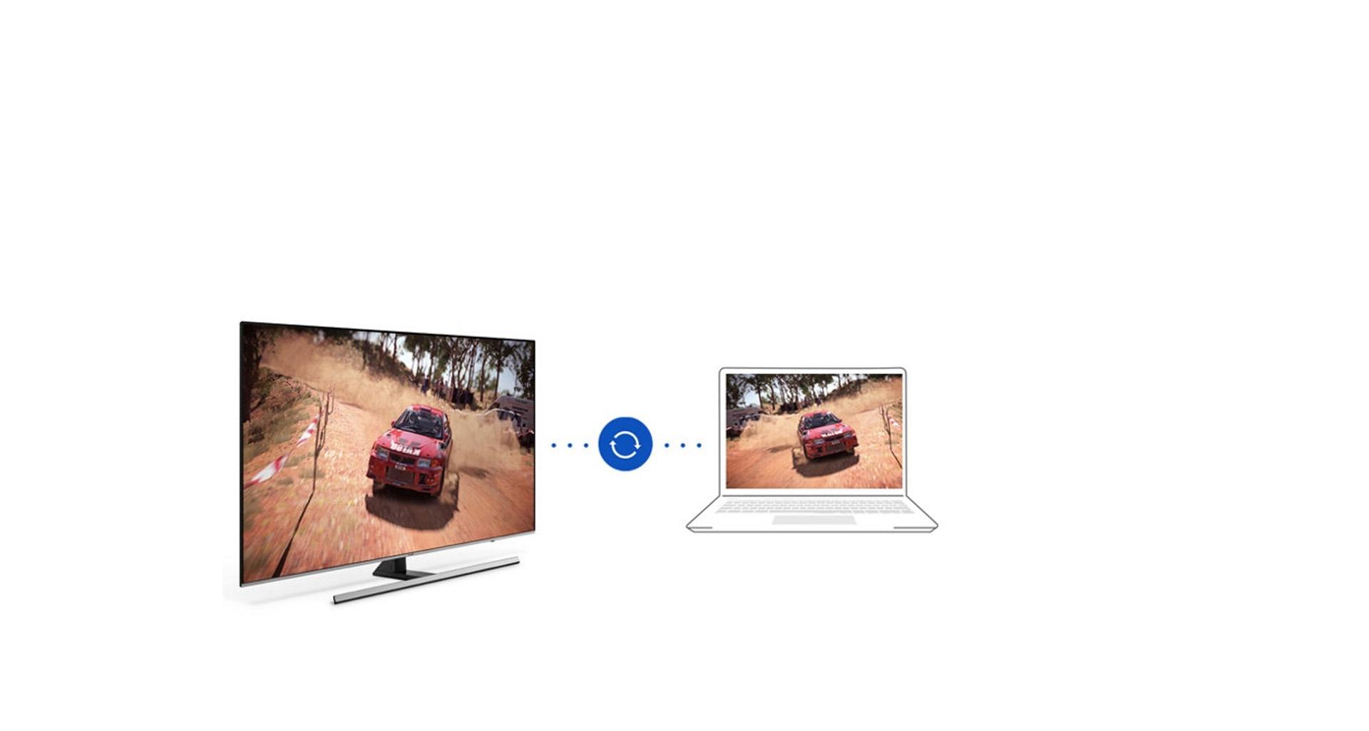 پخش بازی مورد علاقه تان در تلویزیون NU8