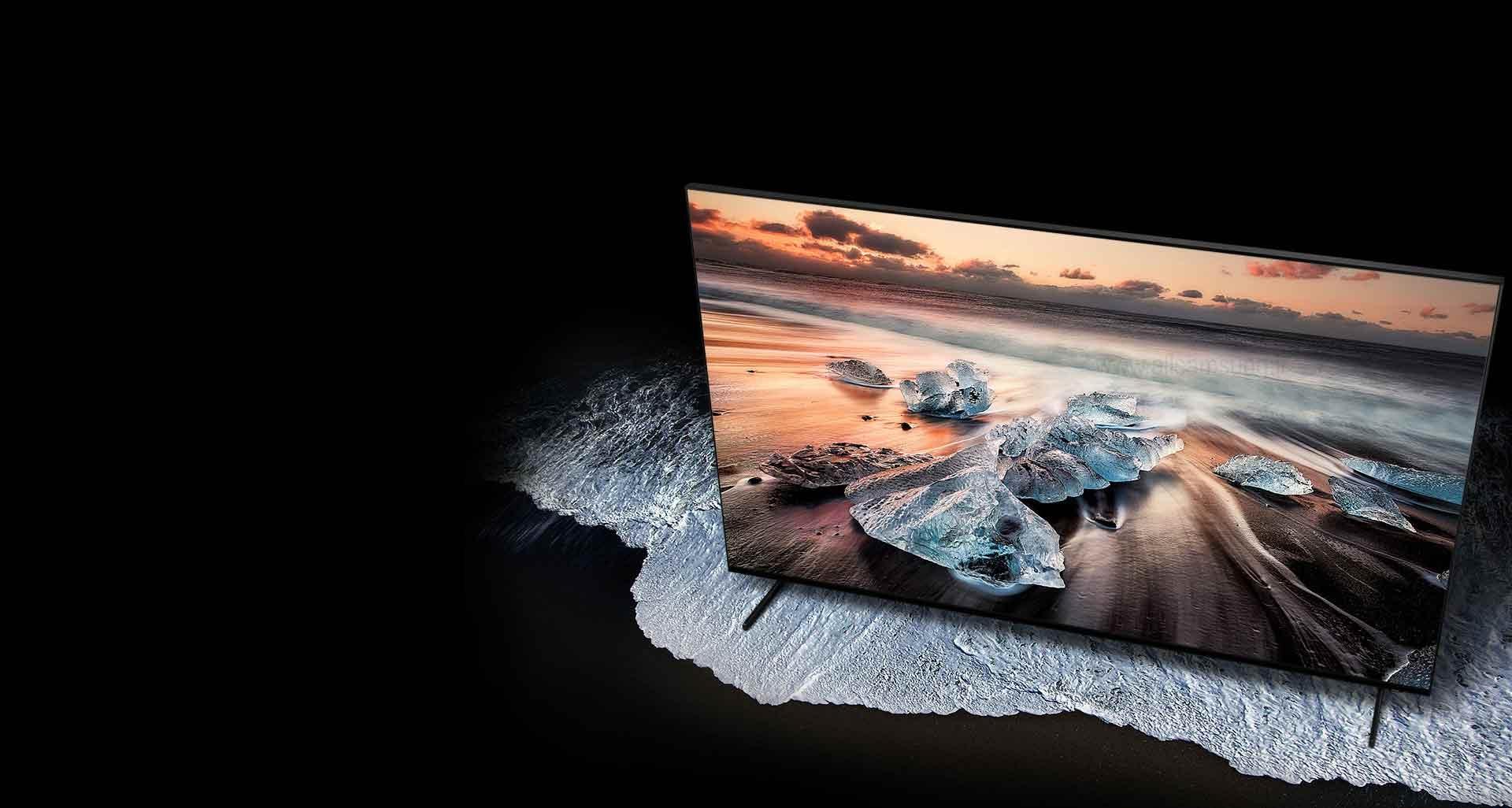 آشنایی با تلویزیون هوشمند کیو ال ای دی 8K