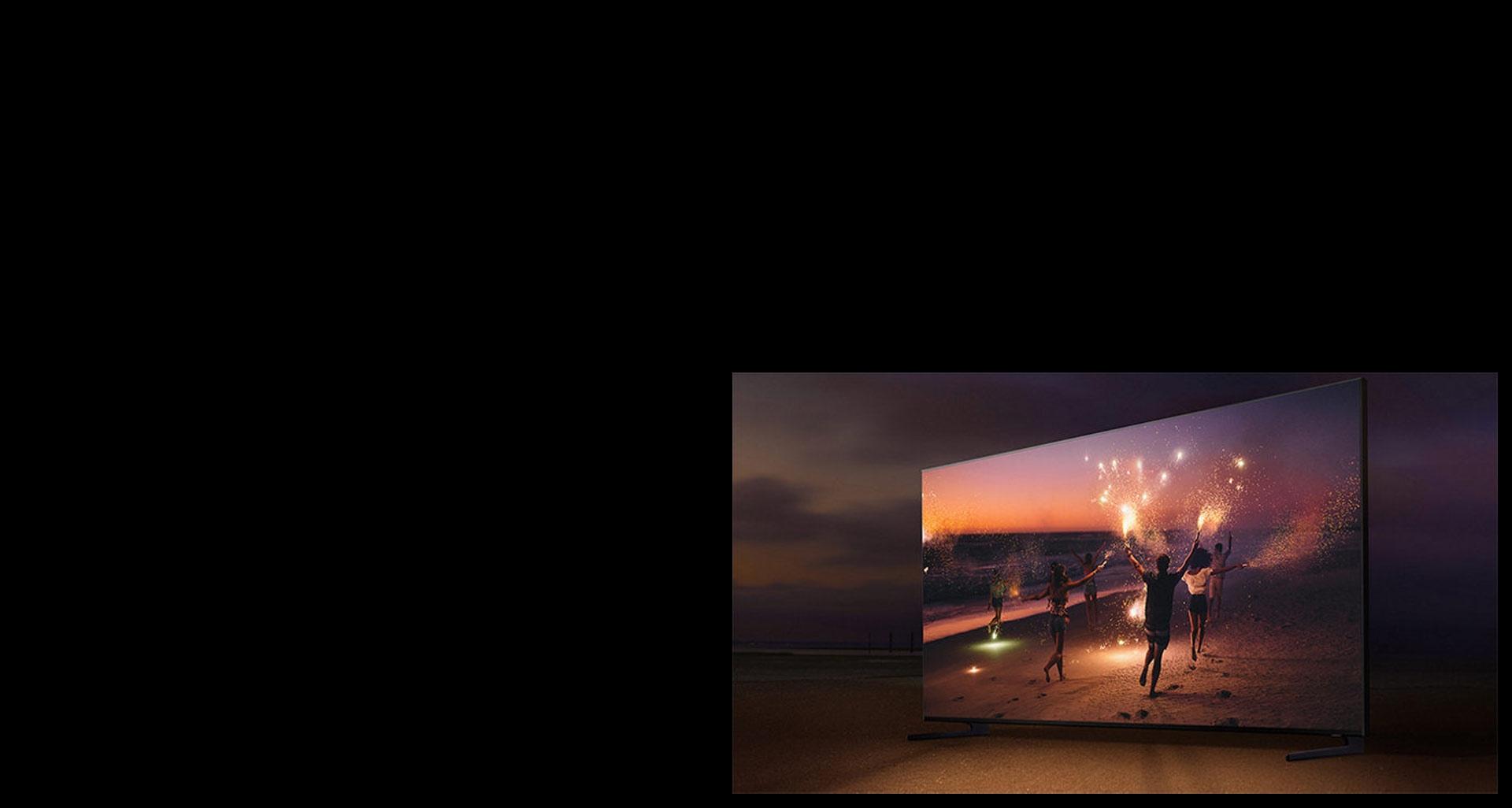 تصویری غیر منتظره با تلویزیون هوشمند Q900R
