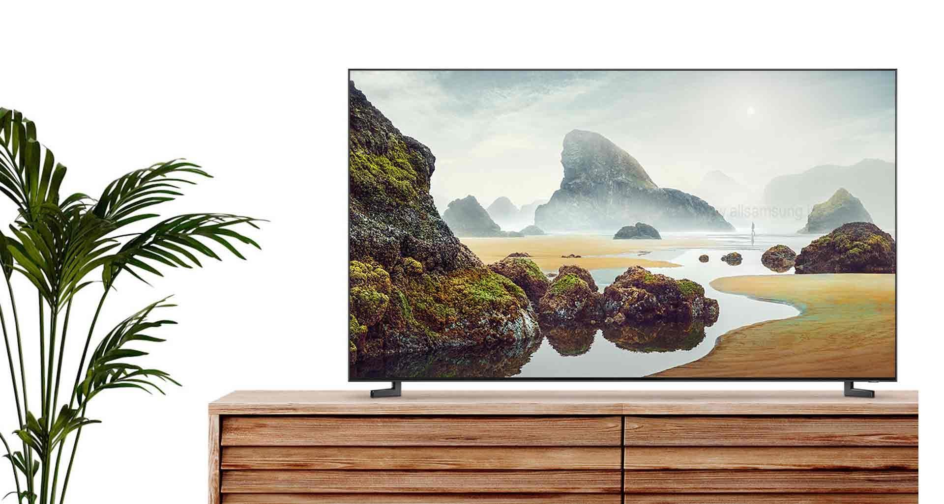 محیطی زیبا و منظم با تلویزیون Q900R