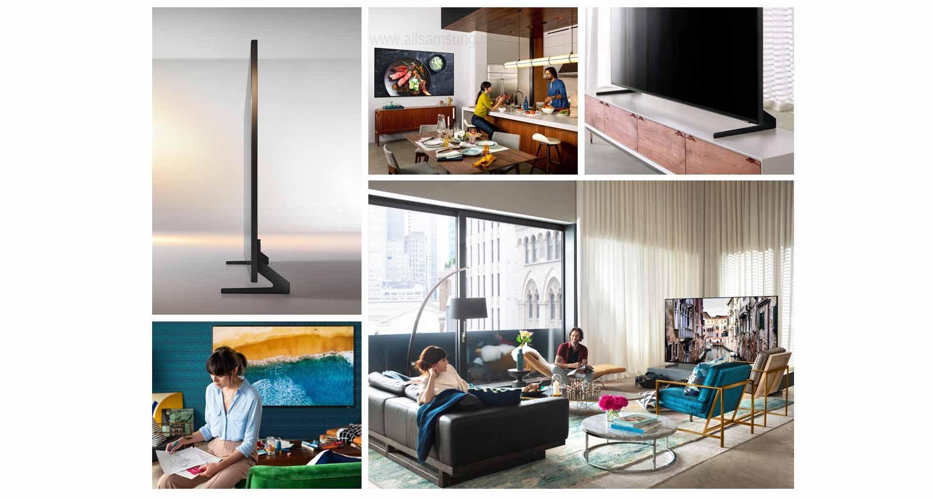 طراحی هنرمندانه تلویزیون کیو ال ای دی Q900R