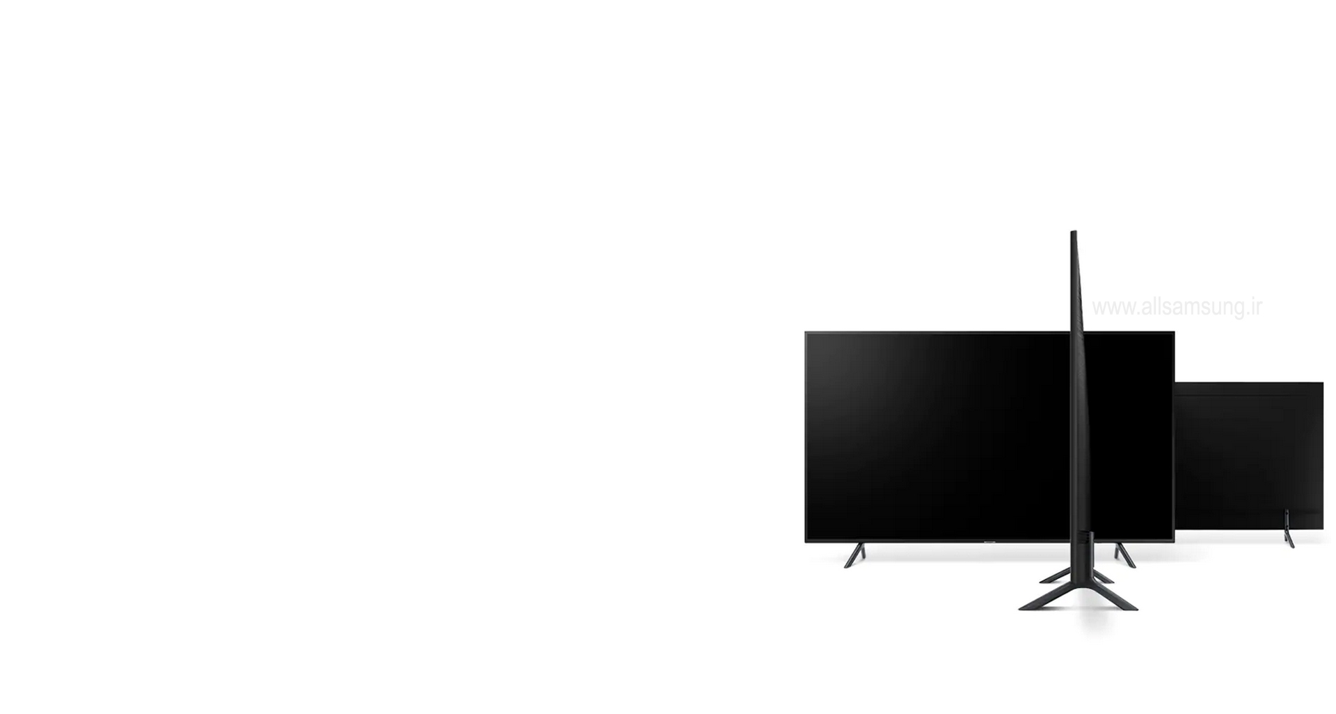 RU7100، تلویزیونی با طراحی باریک