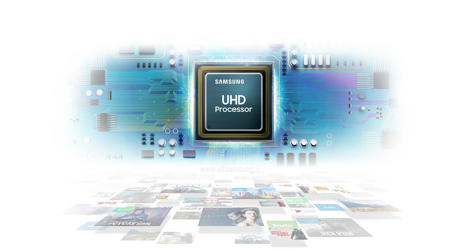 تلویزیون مدل 2019 سامسونگ با پردازنده UHD