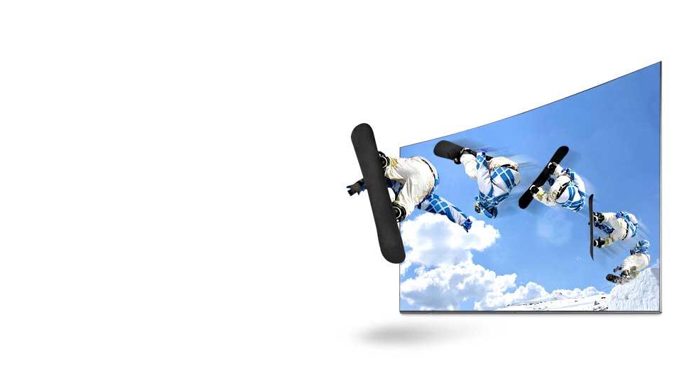 تلویزیون ال ای دی منحنی سامسونگ 55 اینچ سری 7 اسمارت KU7975