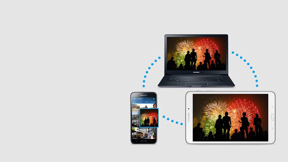 سامسونگ گلکسی تب 4 - Samsung Link