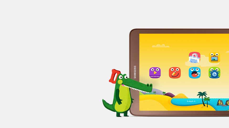 سامسونگ گلکسی تا ایی - Kids Mode