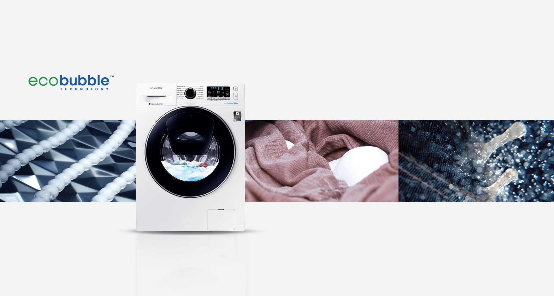ماشین لباسشویی سامسونگ 8 کیلویی Q1468 تسمه ای نقره ای