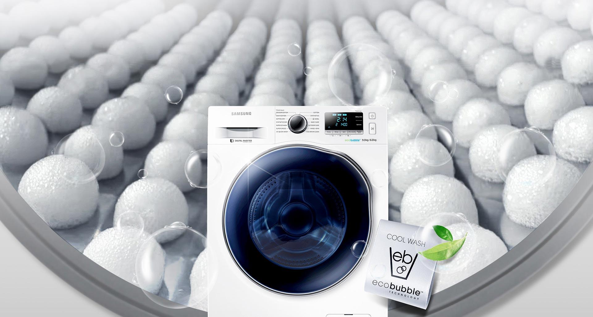 شست و شو در دمای کم، صرفه جویی در مصرف انرژی