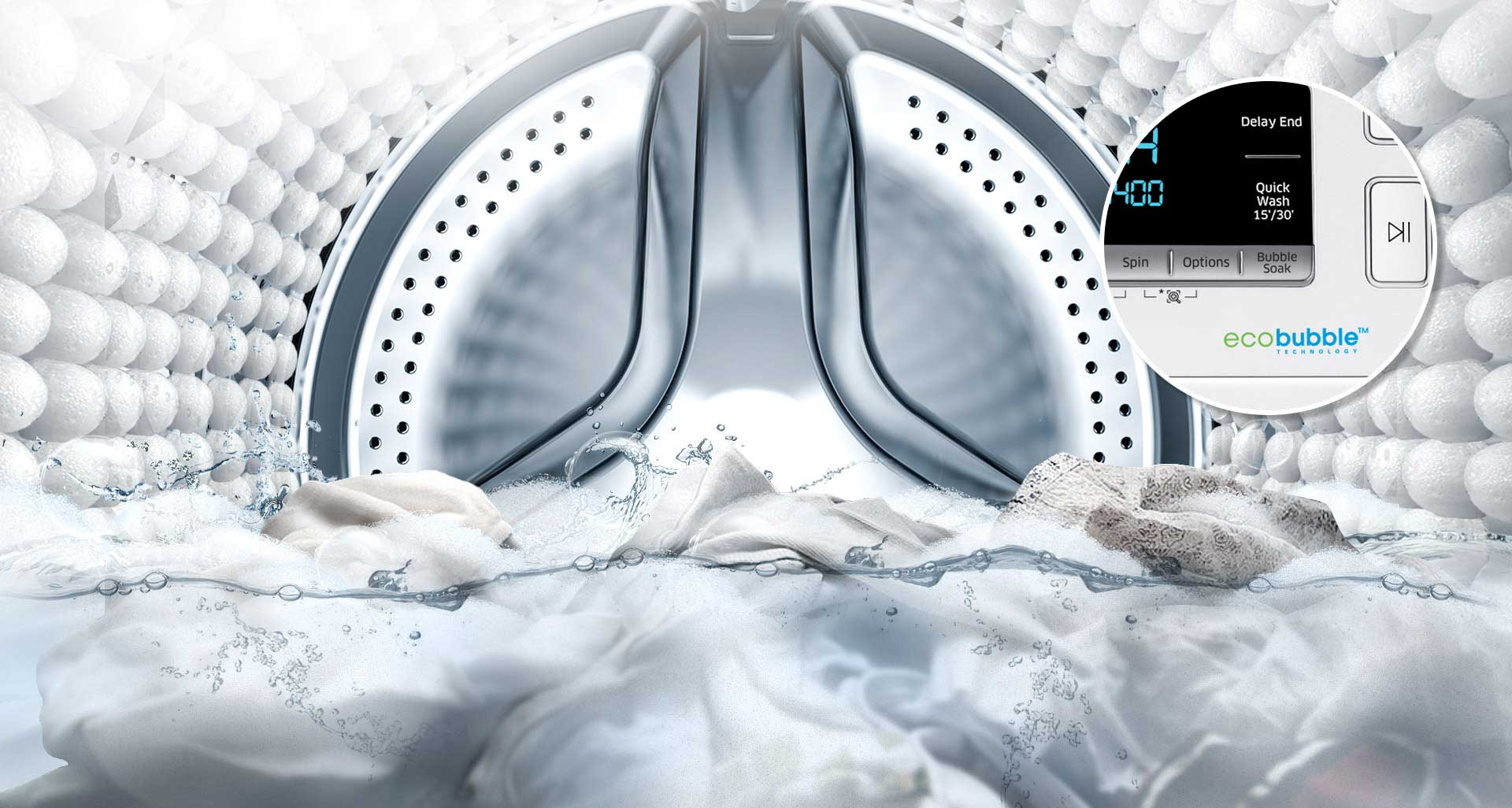 ماشین لباسشویی سامسونگ 8 کیلویی 1473 تسمه ای اینوکس