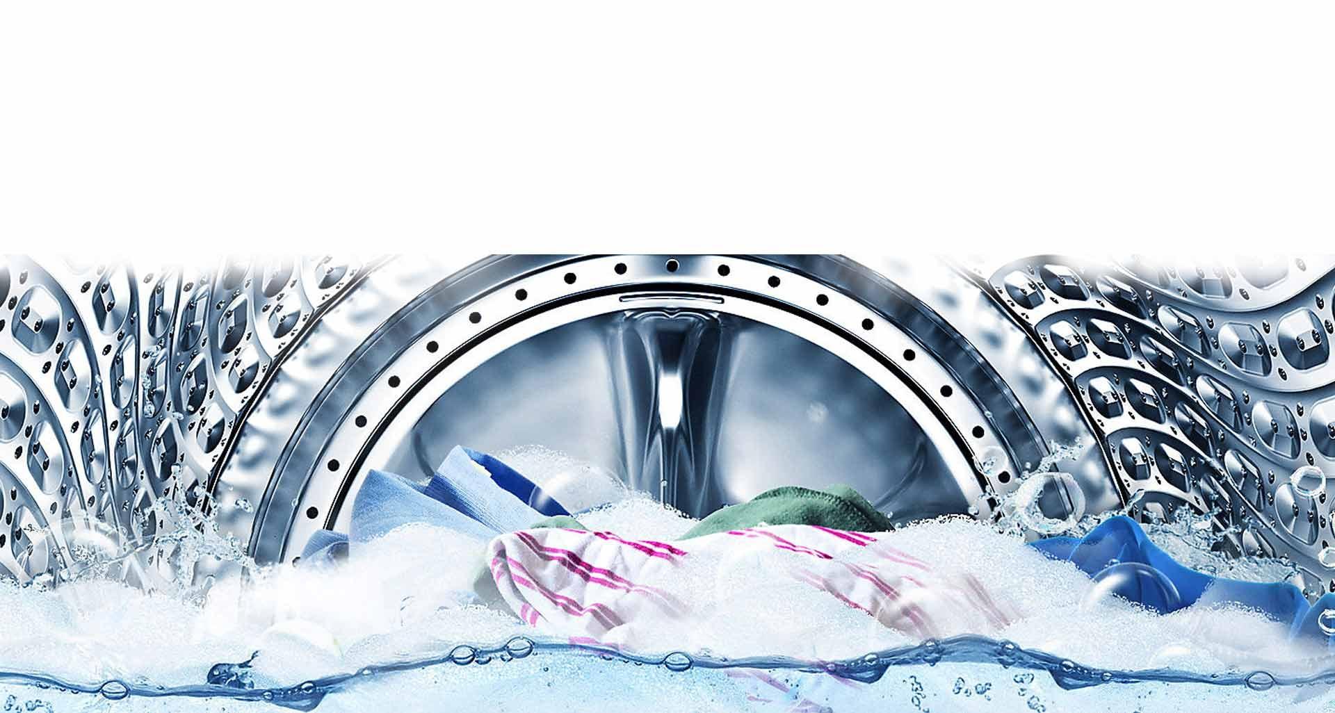 پاک کردن لکه های عمیق، تخصص لباسشویی QuickDrive سامسونگ