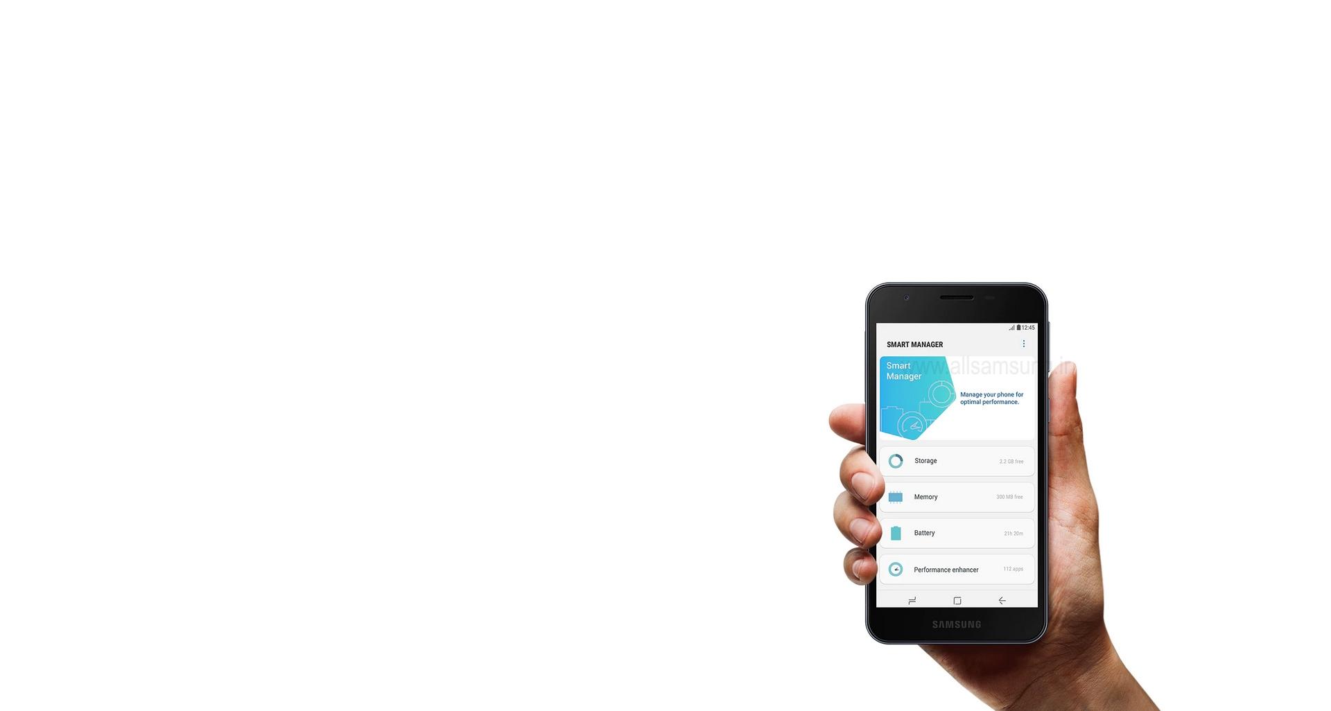 مدیریت حرفه ای گوشی همراه سامسونگ A2 Core