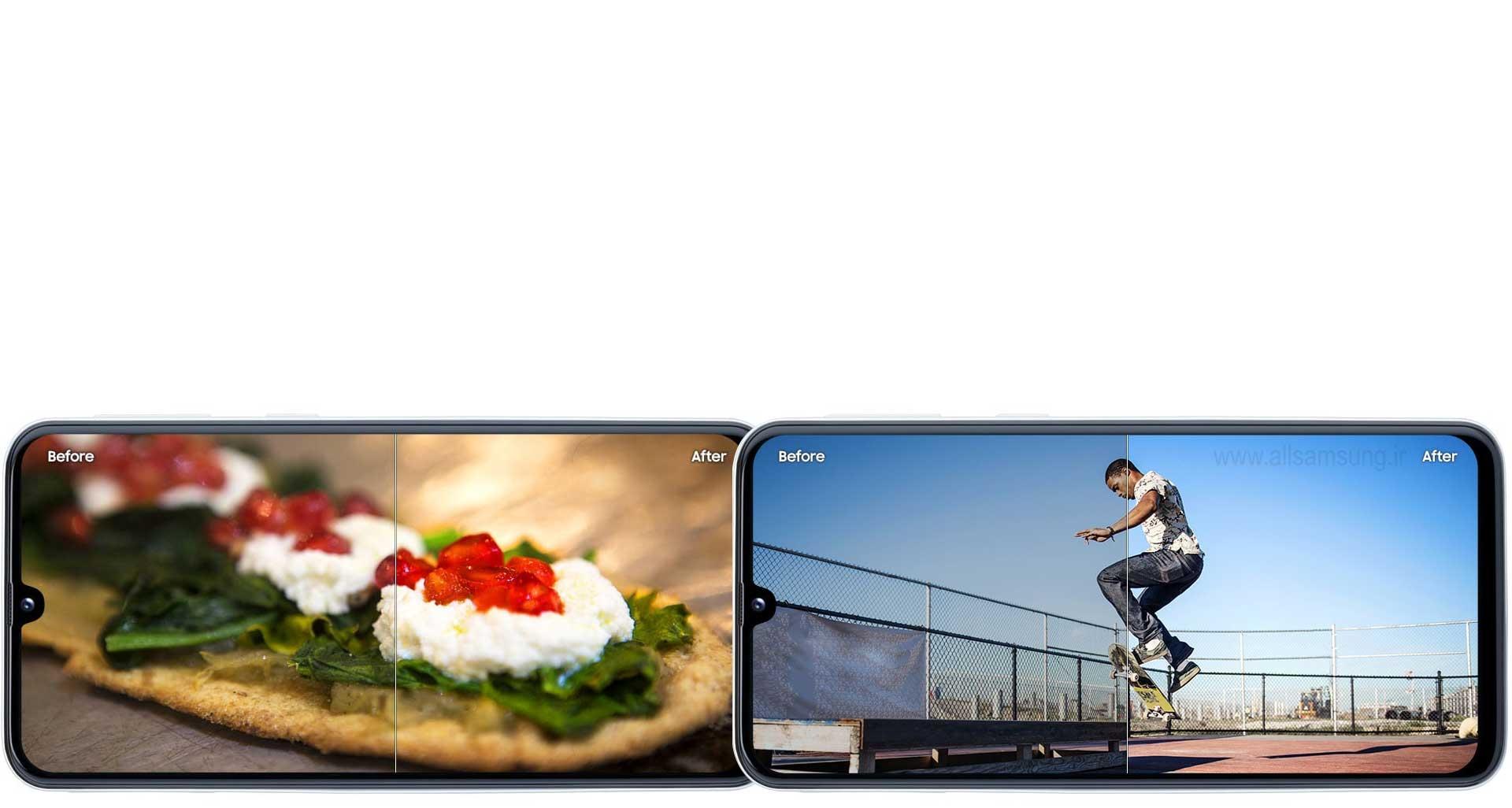 توسط گوشی A40 عکس های خود را با 19 حالت، بهینه سازی کنید