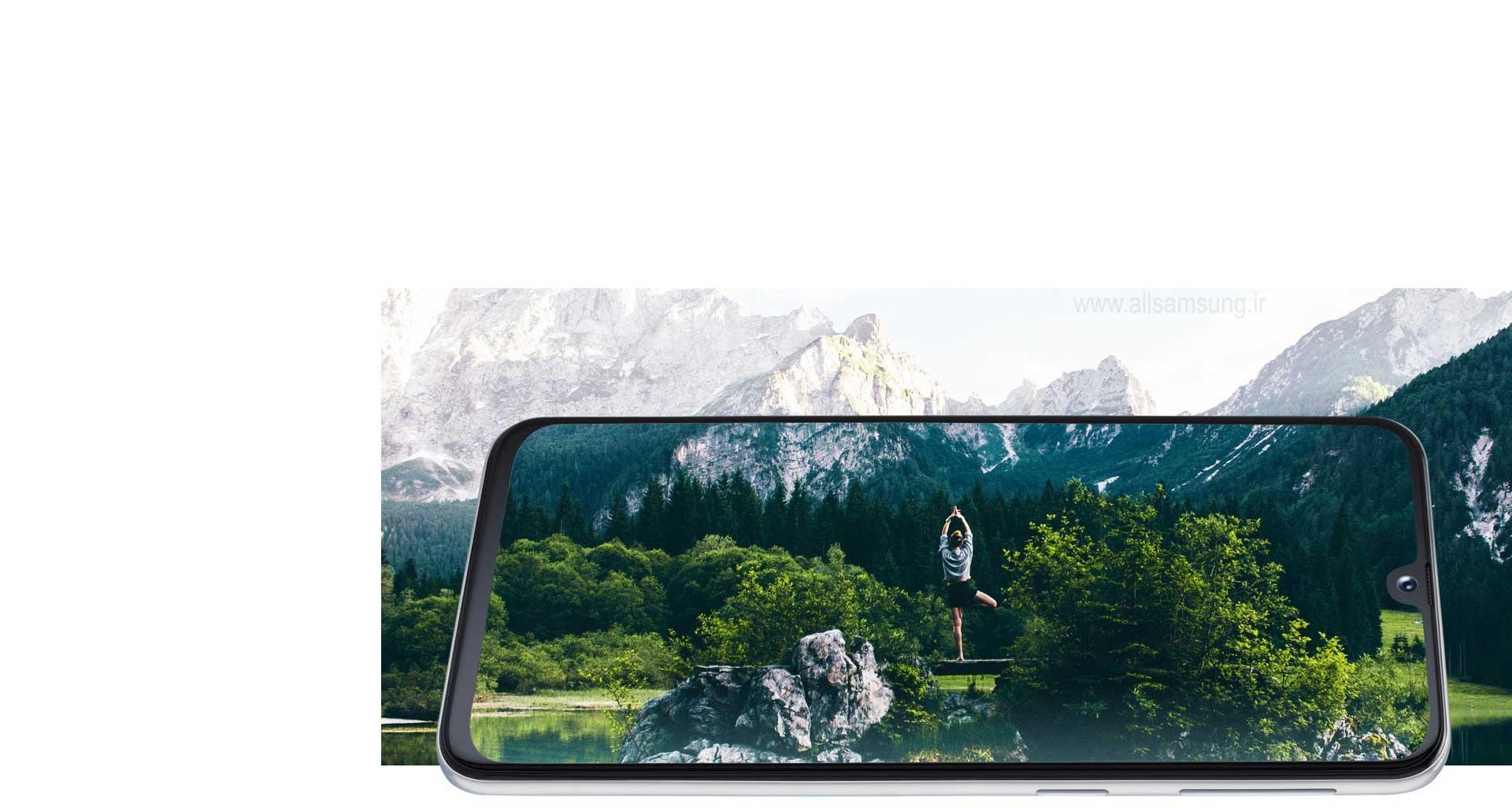 دنیا را با صفحه نمایش گوشی گلکسی A40، بهتر ببینید!