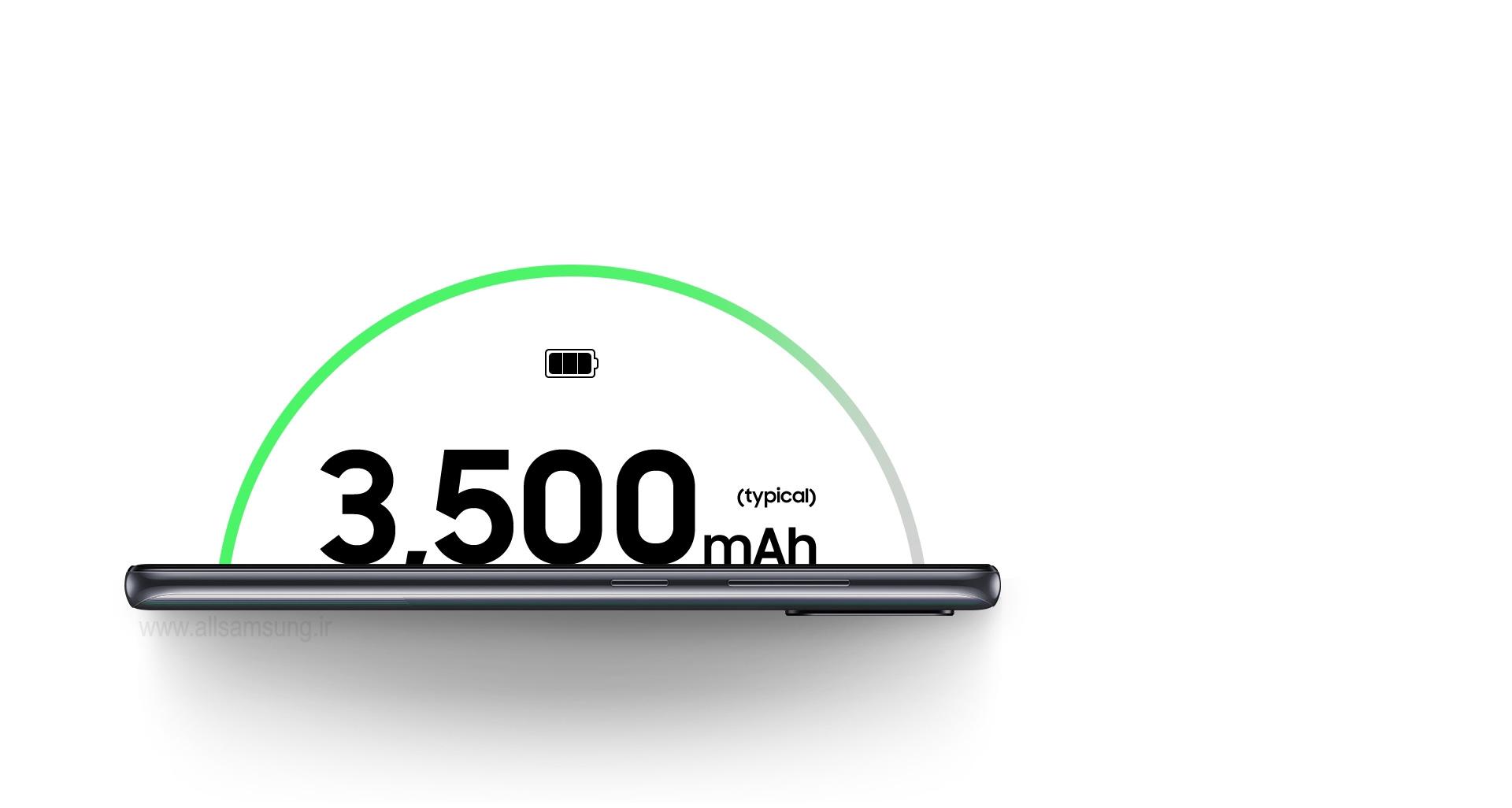 باتری قوی با شارژ طولانی گوشی سامسونگ A41