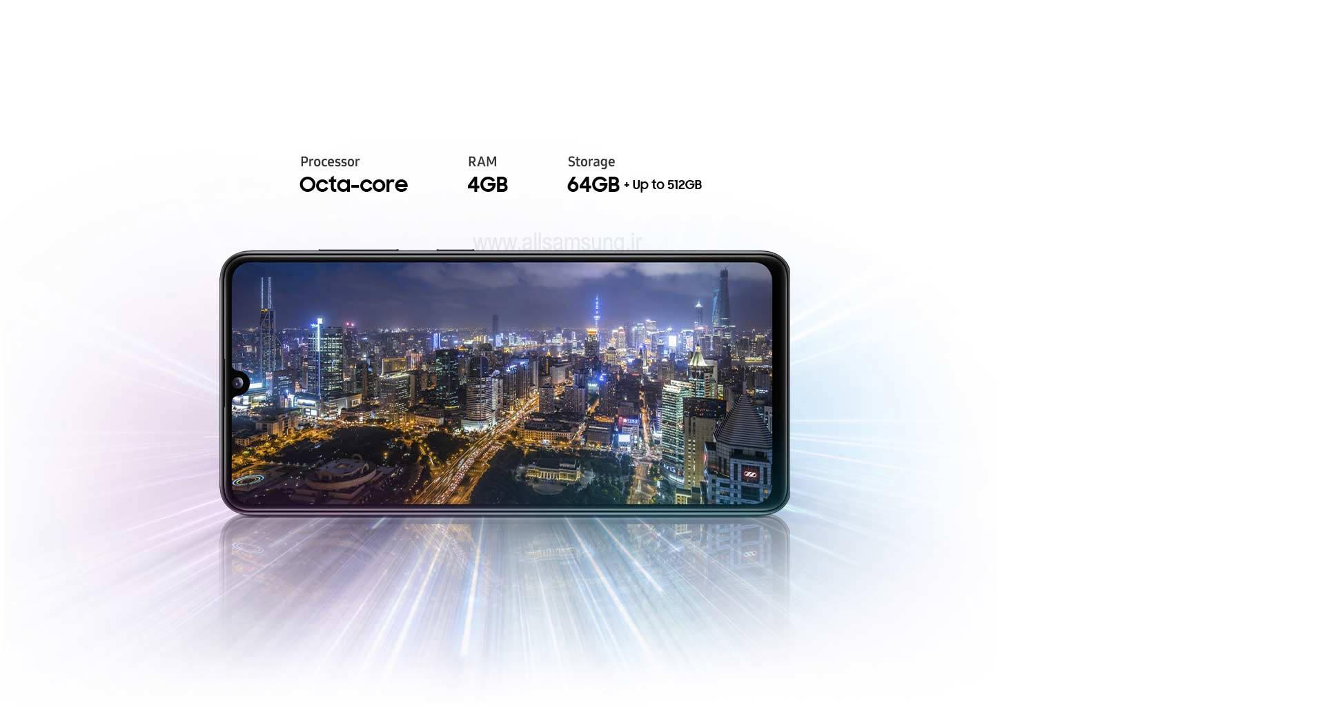 گوشی موبایل سامسونگ مدل galaxy a41
