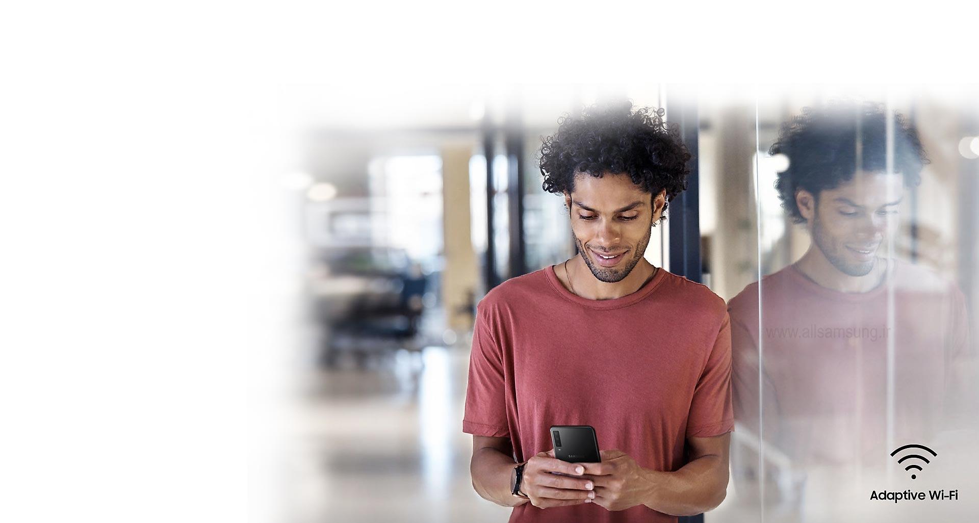 انتقال سریع و آسان به وای فای با گوشی A750
