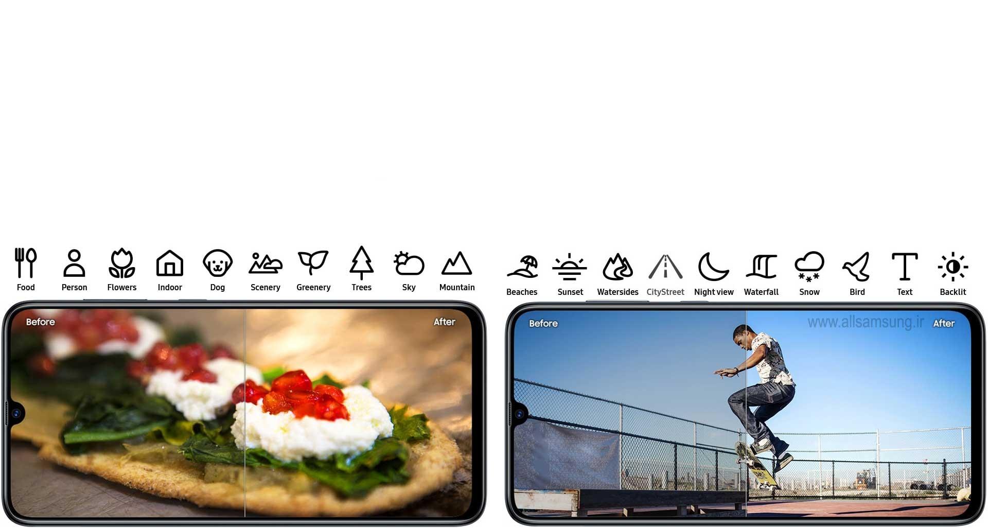گوشی گلکسی A70، دستیار حرفه ای عکاسی در جیب شما