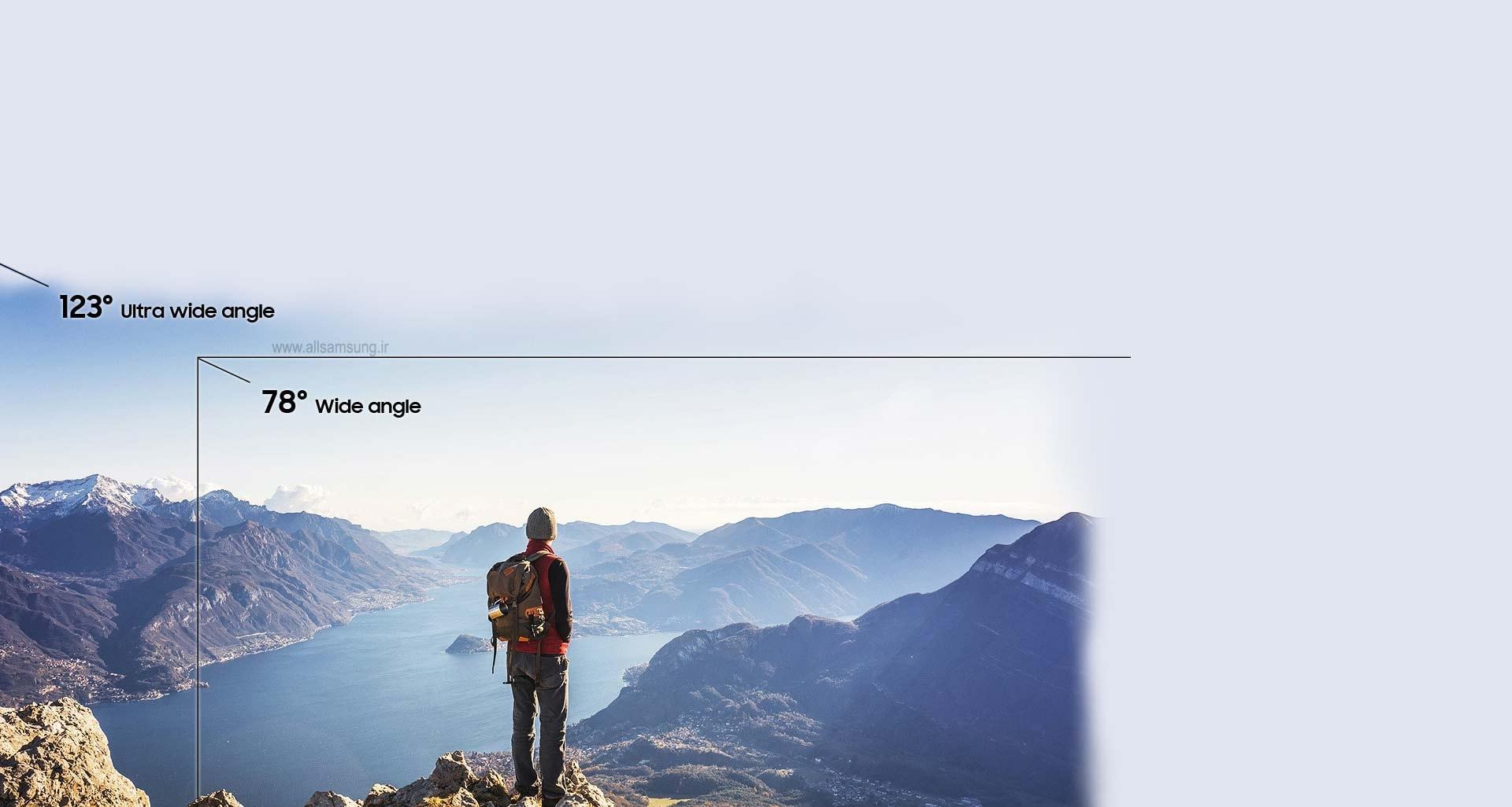 گوشی A70 سامسونگ با دوربین فوق گسترده و عکس های استثنایی