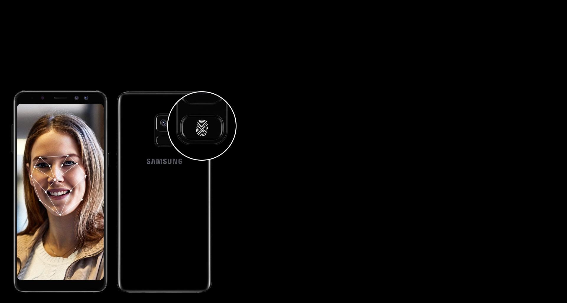 گوشی گلکسی ای 8 پلاس با سیستم احراز هویت پیشرفته