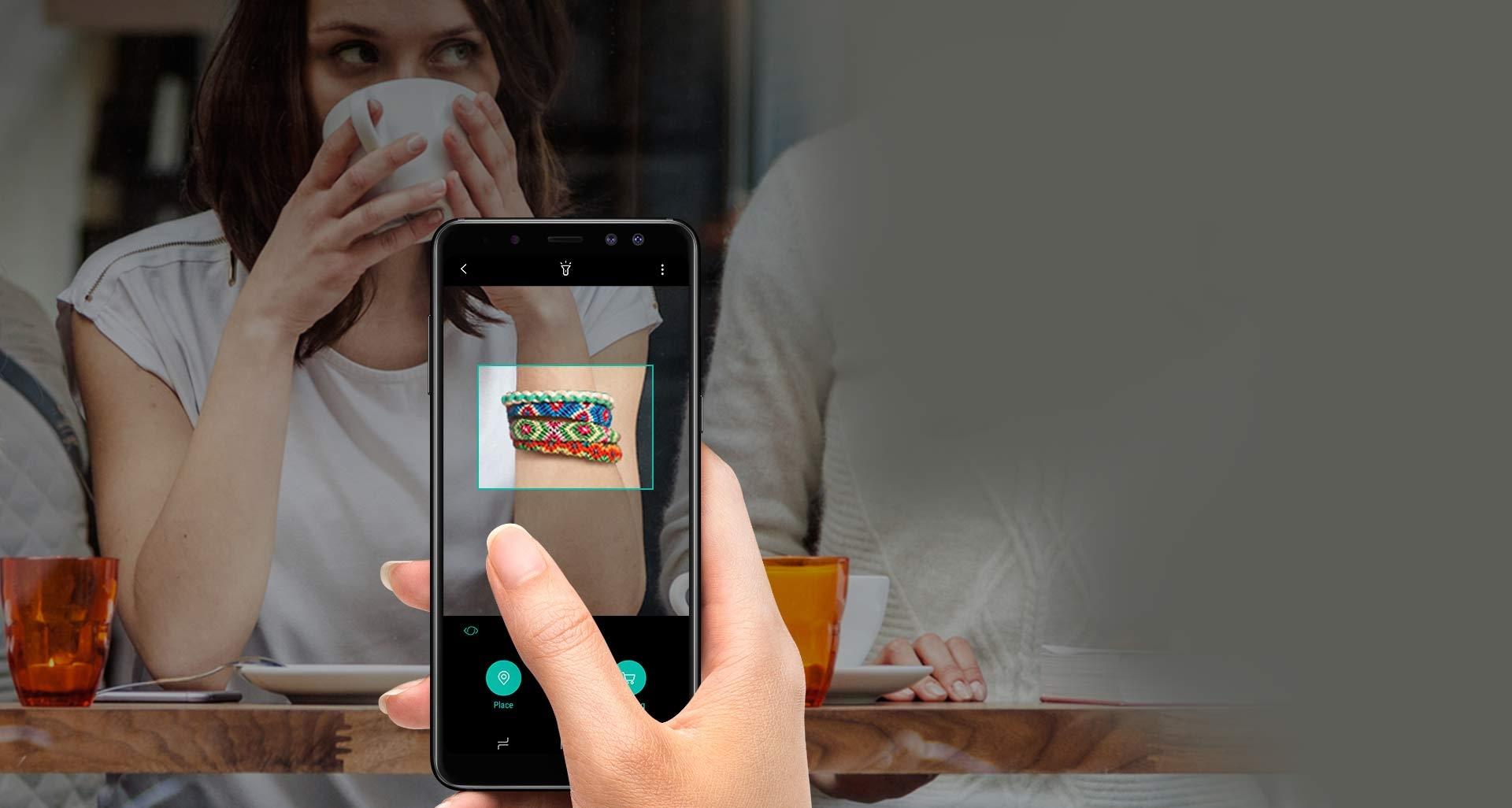 گوشی گلکسی ای 8 پلاس با Bixby به کمک شما آمده!