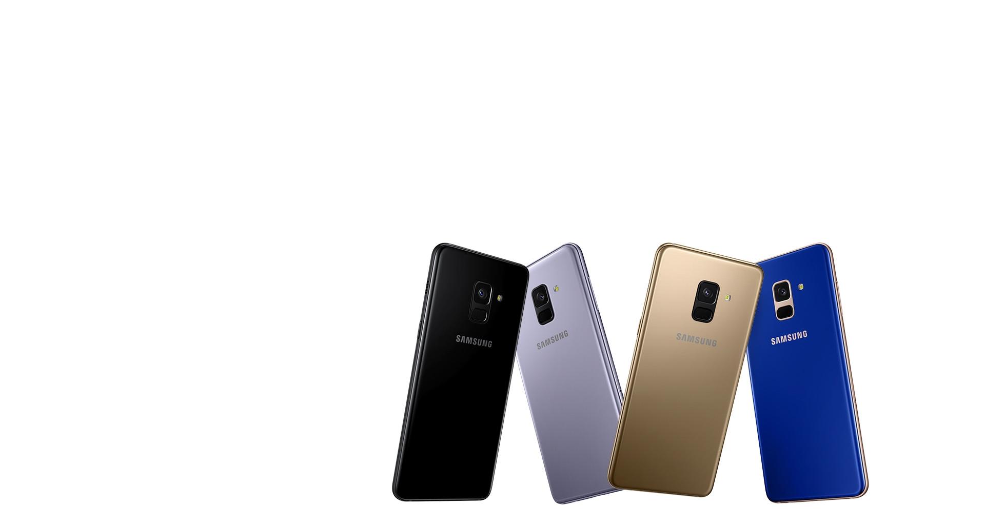 رنگ ها و طرح های خارق العاده گوشی گلکسی A8 2018