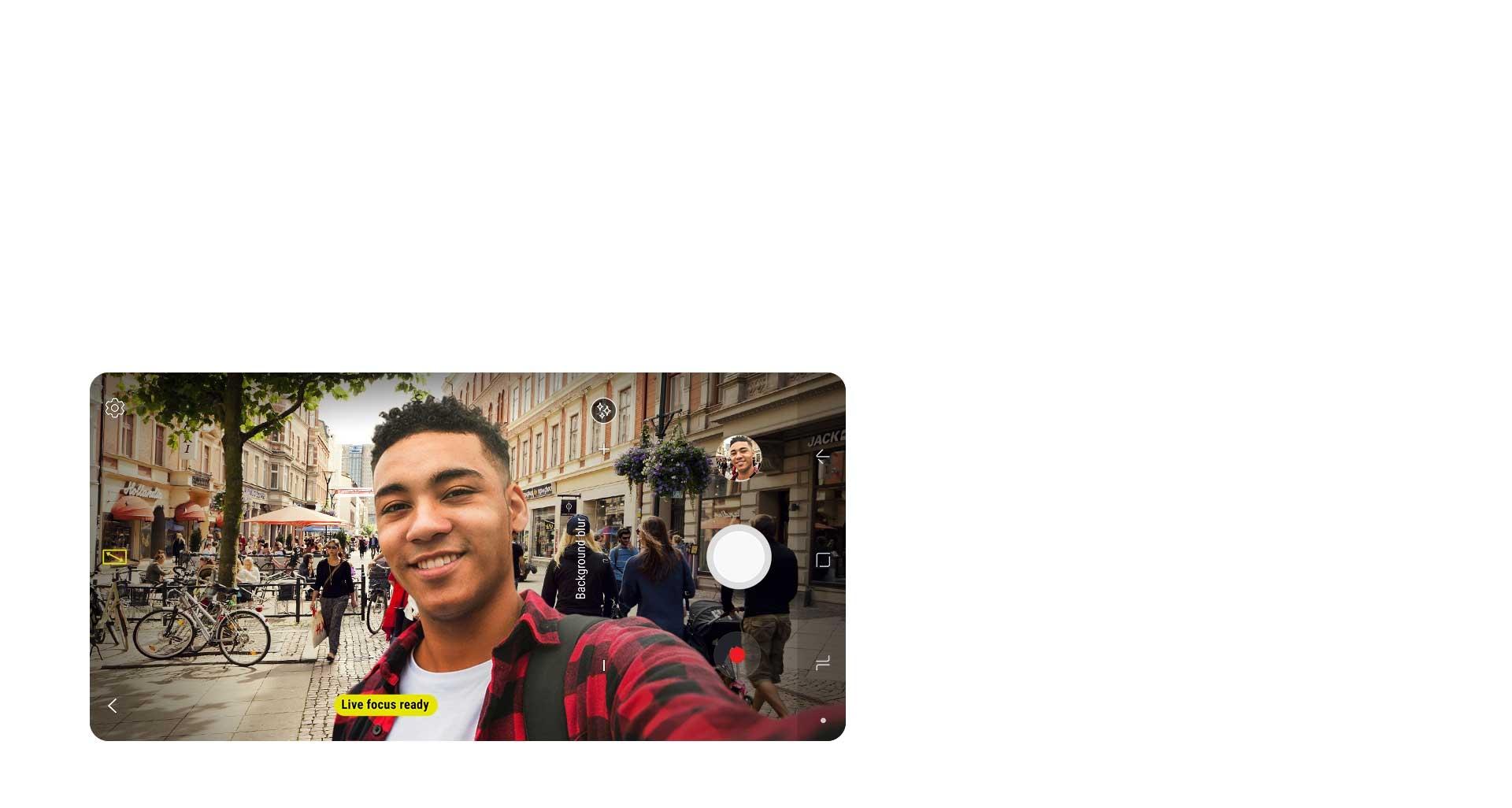 گوشی گلکسی ای 8 پلاس 2018 برای بهترین کیفیت تصاویر سلفی