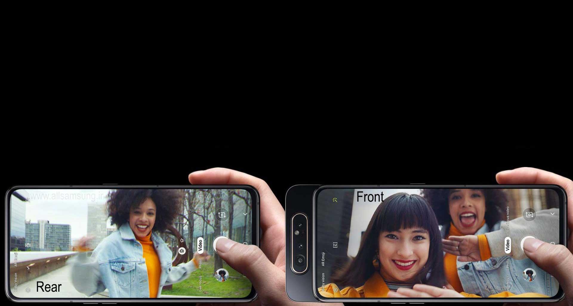 ثبت جزییات بیشتر با دوربین گوشی مدل A805 سامسونگ